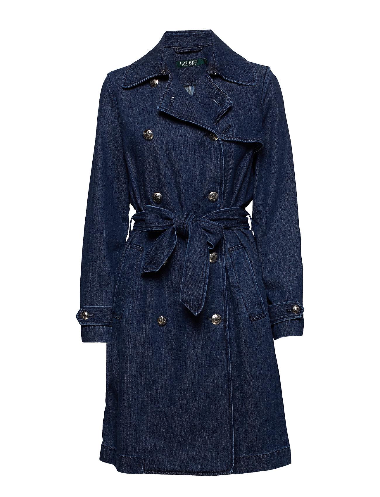 Lauren Ralph Lauren Belted Denim Trench Coat