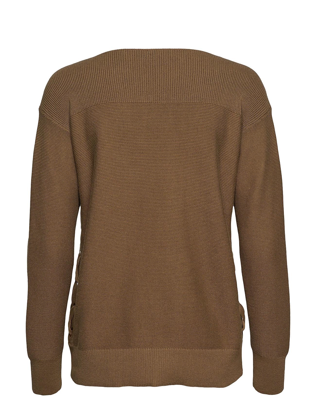 up Cotton Lace OliveLauren Sweaterexplorer Ralph WdeEoQrCxB
