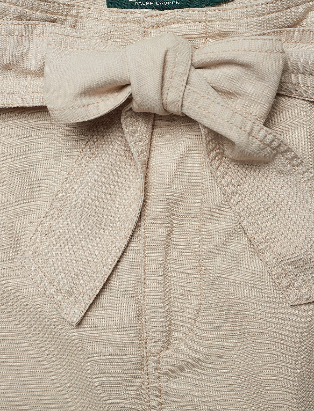 Belted Cotton Ralph Blend Skirtcanyon KhakiLauren kOnPw0
