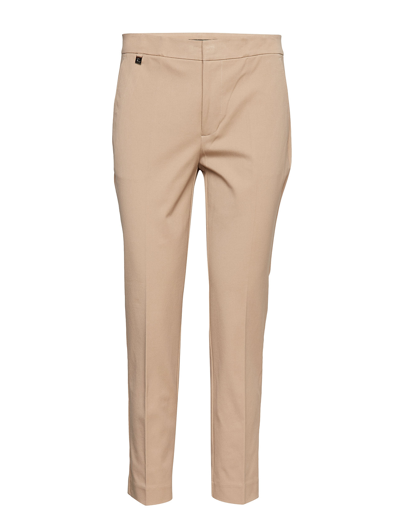 Lauren Ralph Lauren Cotton Twill Skinny Pant - BIRCH TAN
