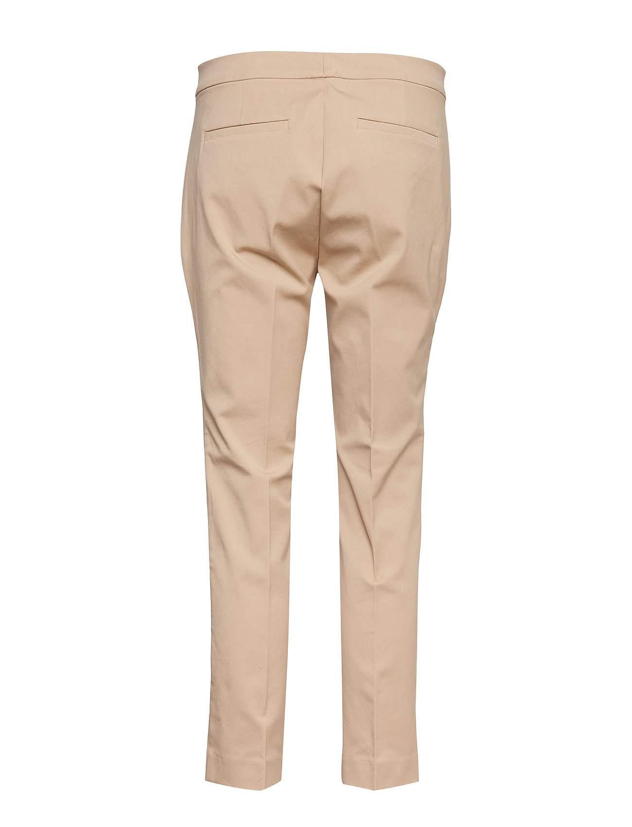 Lauren Ralph Lauren - Cotton Twill Skinny Pant - suorat housut - birch tan
