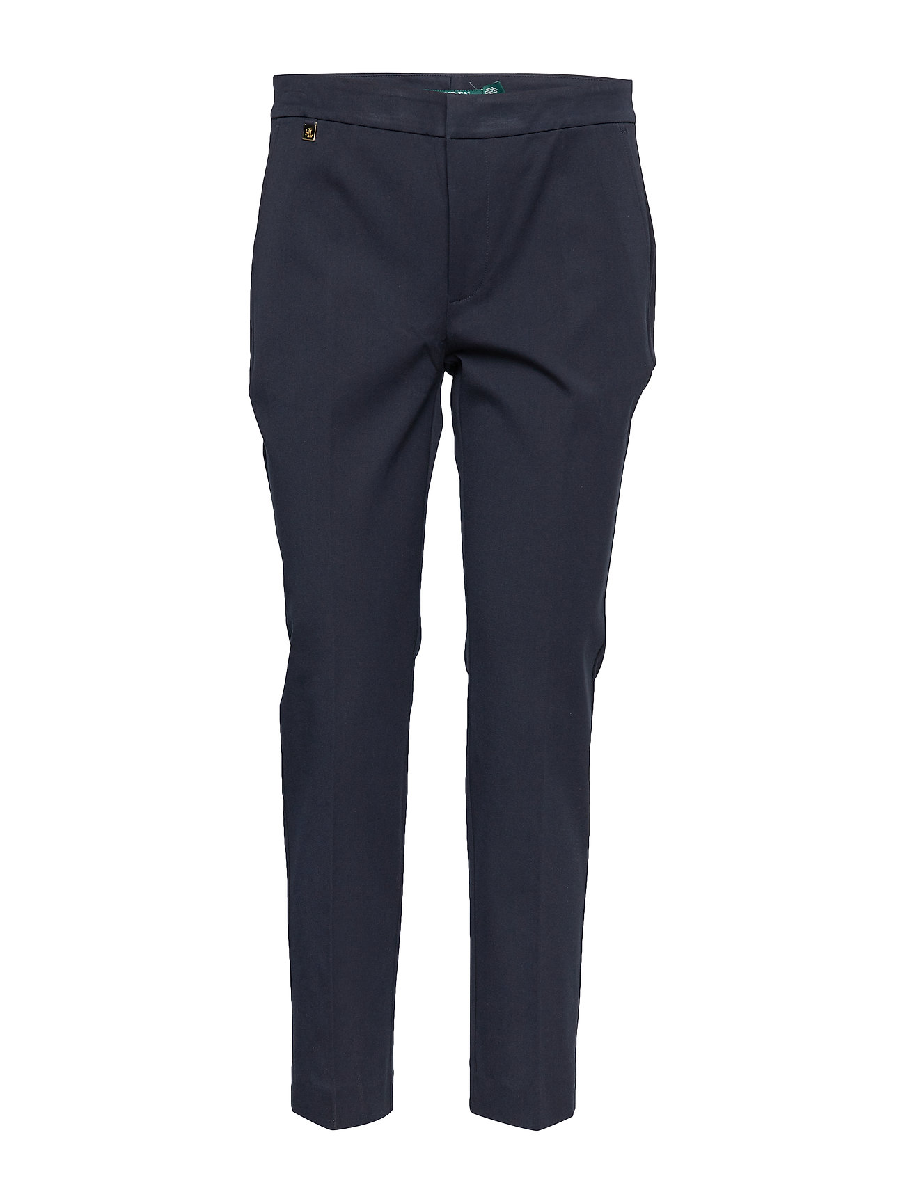 Lauren Ralph Lauren Cotton Twill Skinny Pant - LAUREN NAVY