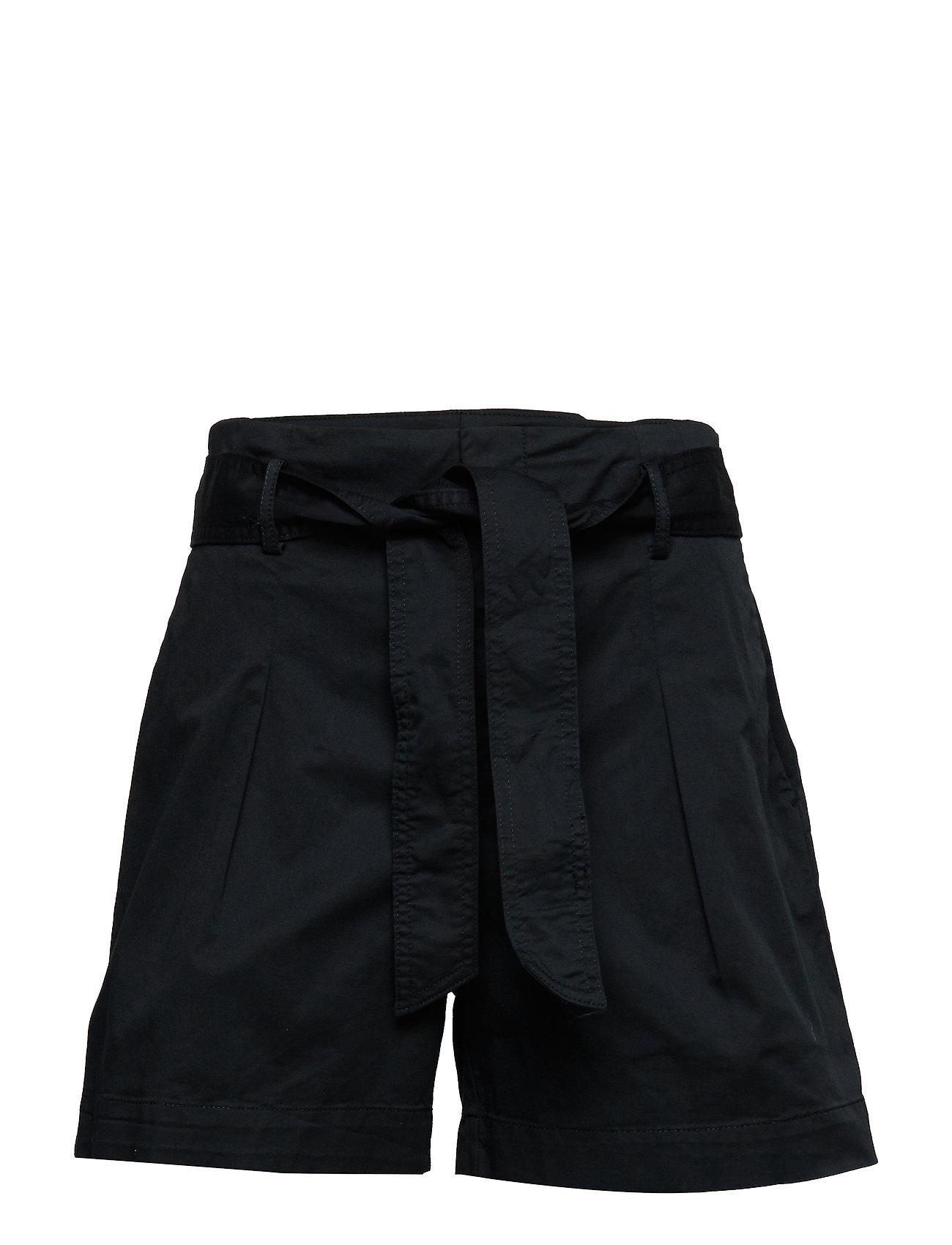 Lauren Ralph Lauren Belted Twill Short - POLO BLACK