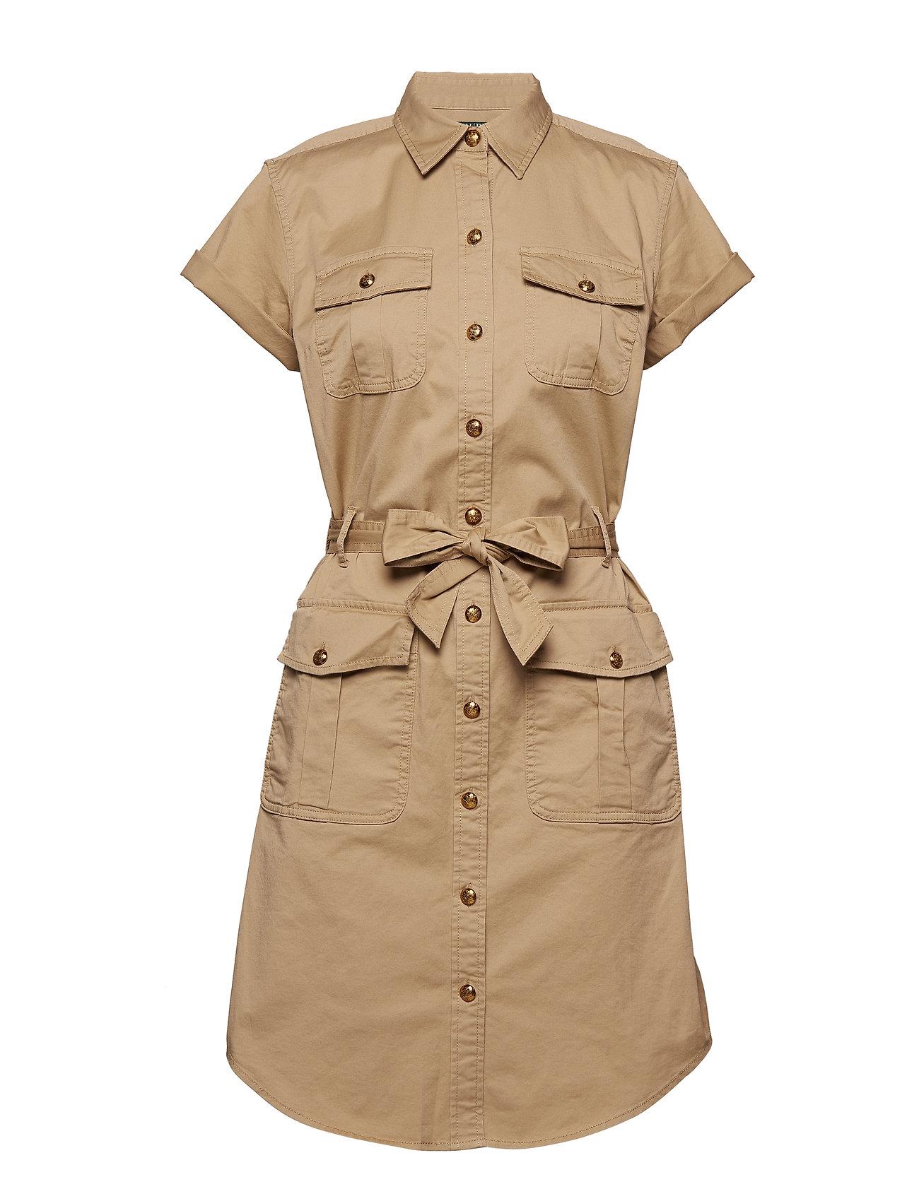 23172f7bf91 Twill Shirtdress (Spring Khaki) (£155) - Lauren Ralph Lauren ...