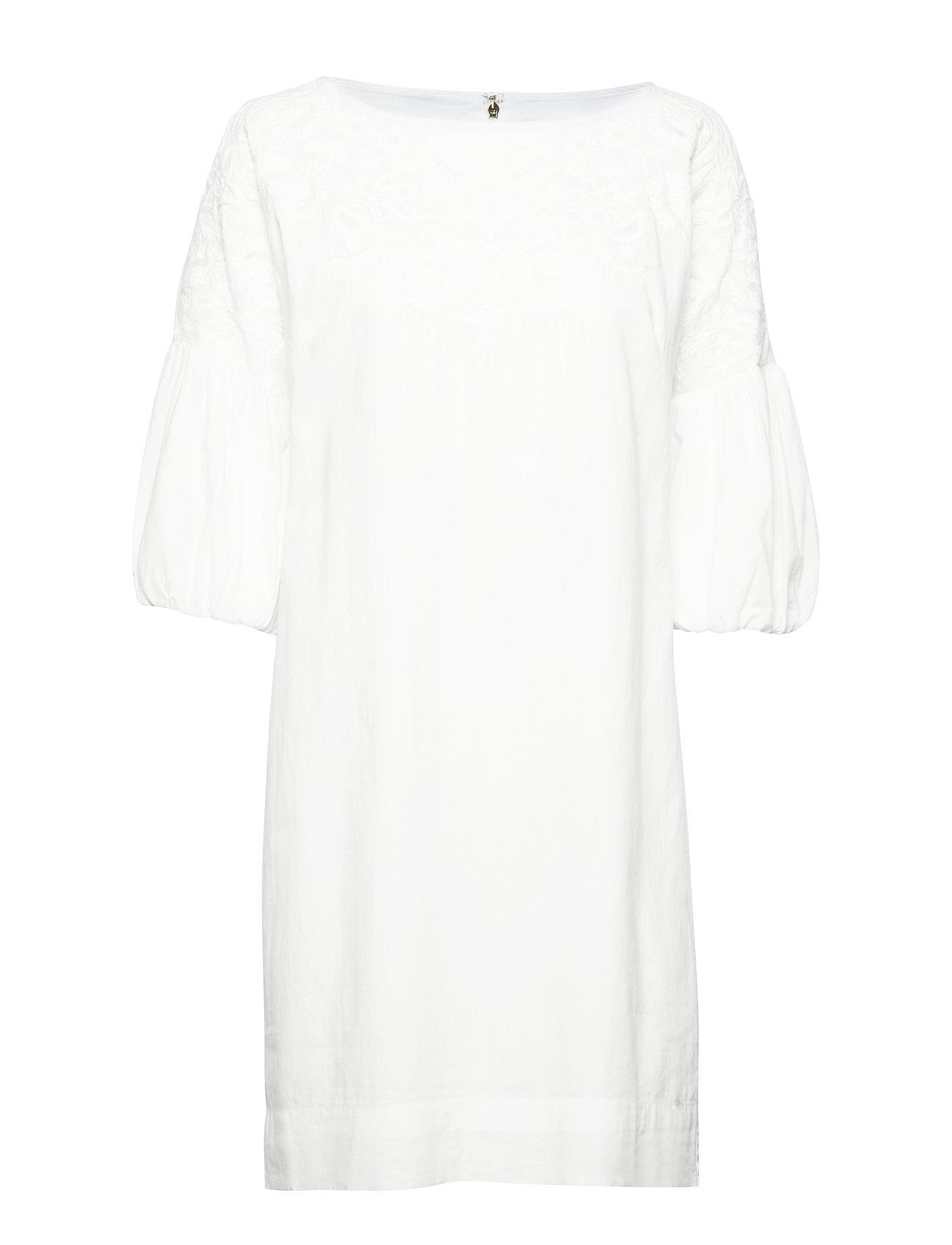 Lauren Ralph Lauren Bell-Sleeve Shift Dress - WHITE