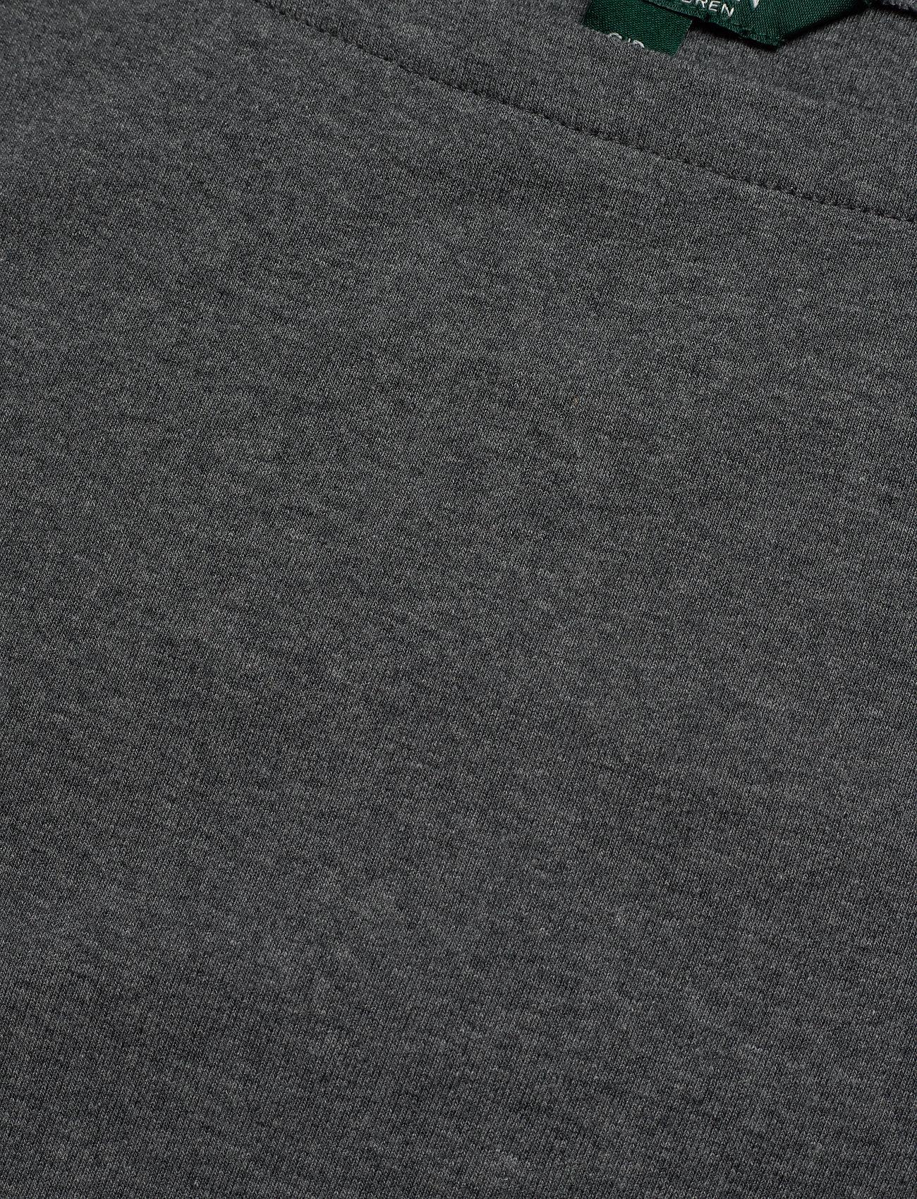Lauren Ralph Lauren RFND ST 1X1 RIB TDH-KNIT - T-shirty i zopy LEXINGTON GREY HE - Kobiety Odzież.