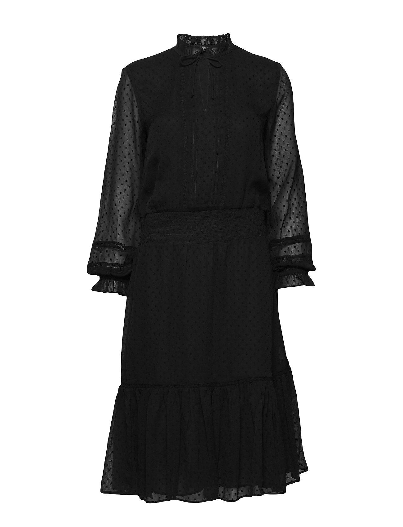 Lauren Ralph Lauren SWISS DOT-DRESS - POLO BLACK