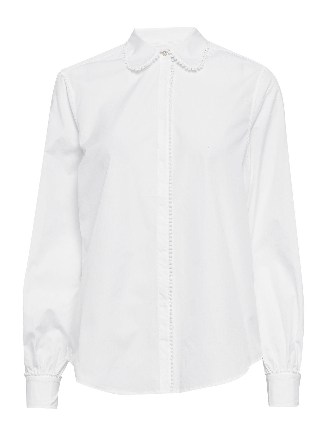 Lauren Ralph Lauren 80S CTN BRDCLTH-SHIRT - WHITE