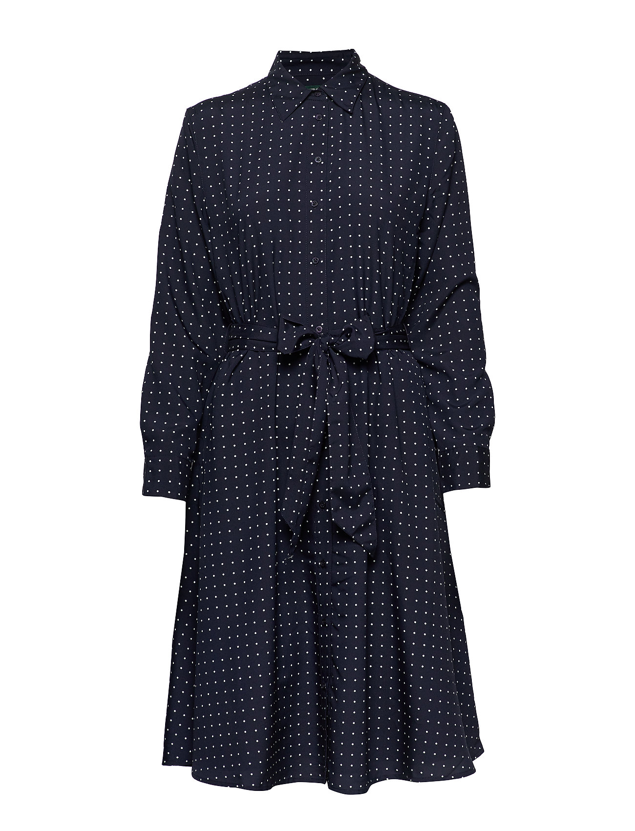 Lauren Ralph Lauren POLY CDC-DRESS - LAUREN NAVY/SILK