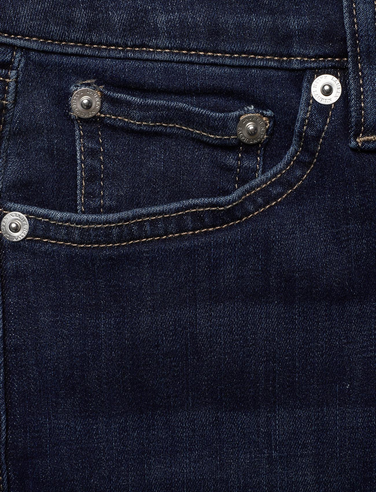 Lauren Ralph Lauren Regal Skinny Ankle Jean - Jeans TRUE INDIGO WASH - Dameklær Spesialtilbud