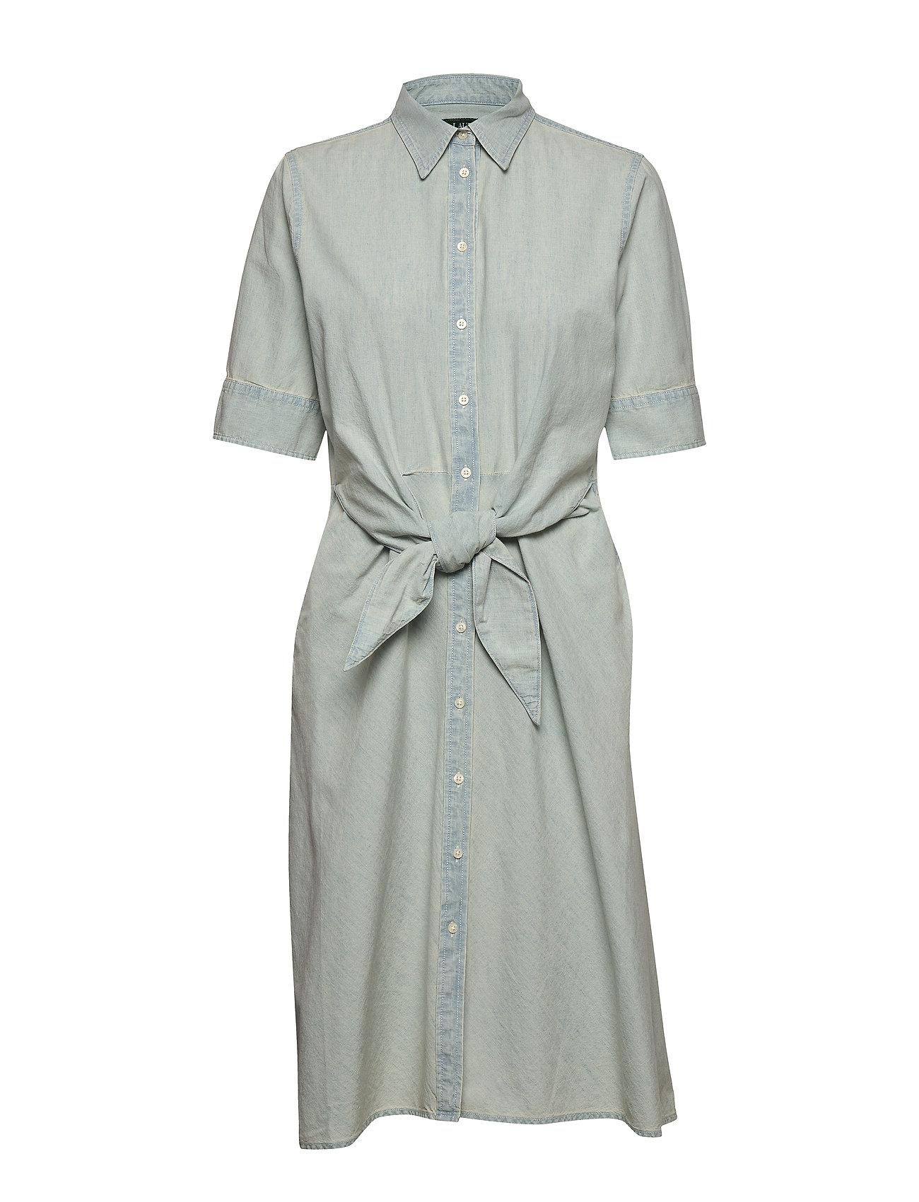 Lauren Ralph Lauren Chambray Shirtdress - VINTAGE CHAMBRAY