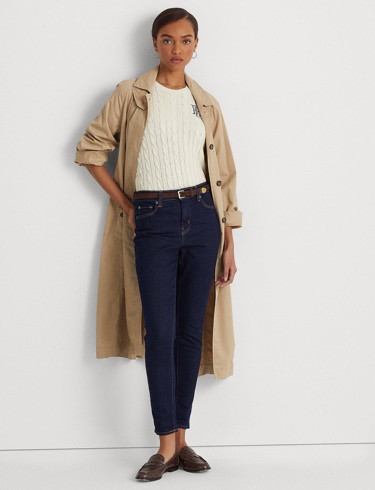 Lauren Ralph Lauren - High-Rise Skinny Ankle Jean - skinny jeans - rinse wash - 0