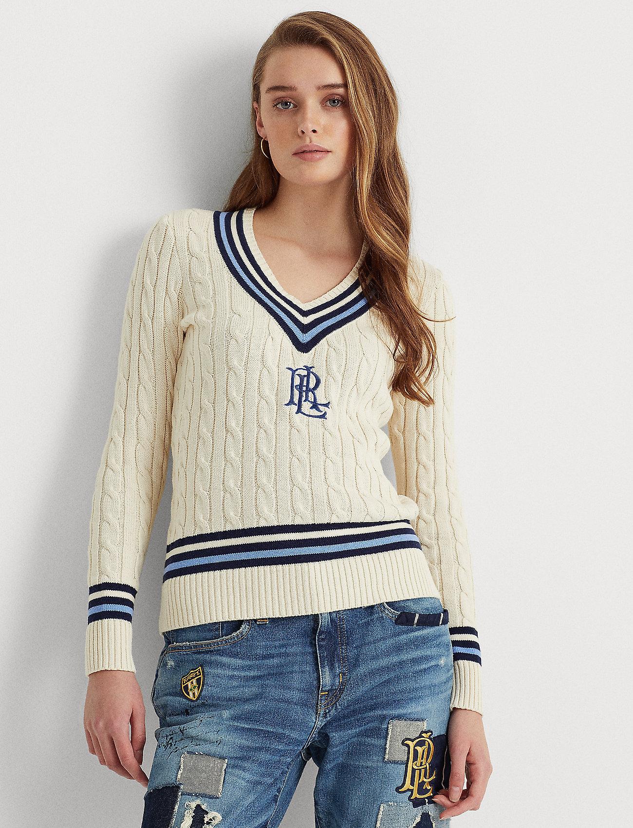 Lauren Ralph Lauren - Logo Cricket Sweater - pulls - mascrm/fnvy/cbl - 0