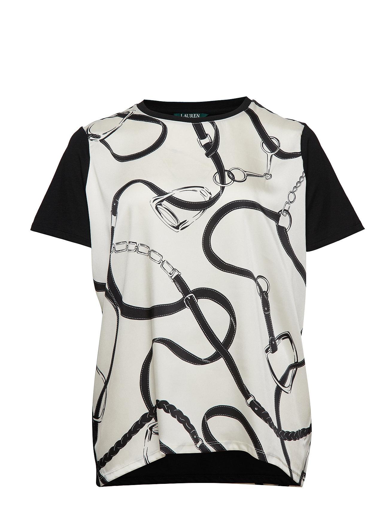 Lauren Ralph Lauren Geometric-Print T-Shirt