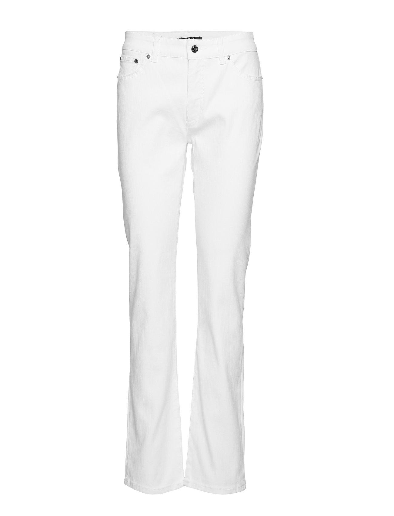 Lauren Ralph Lauren Slimming Premier Straight Jean - WHITE