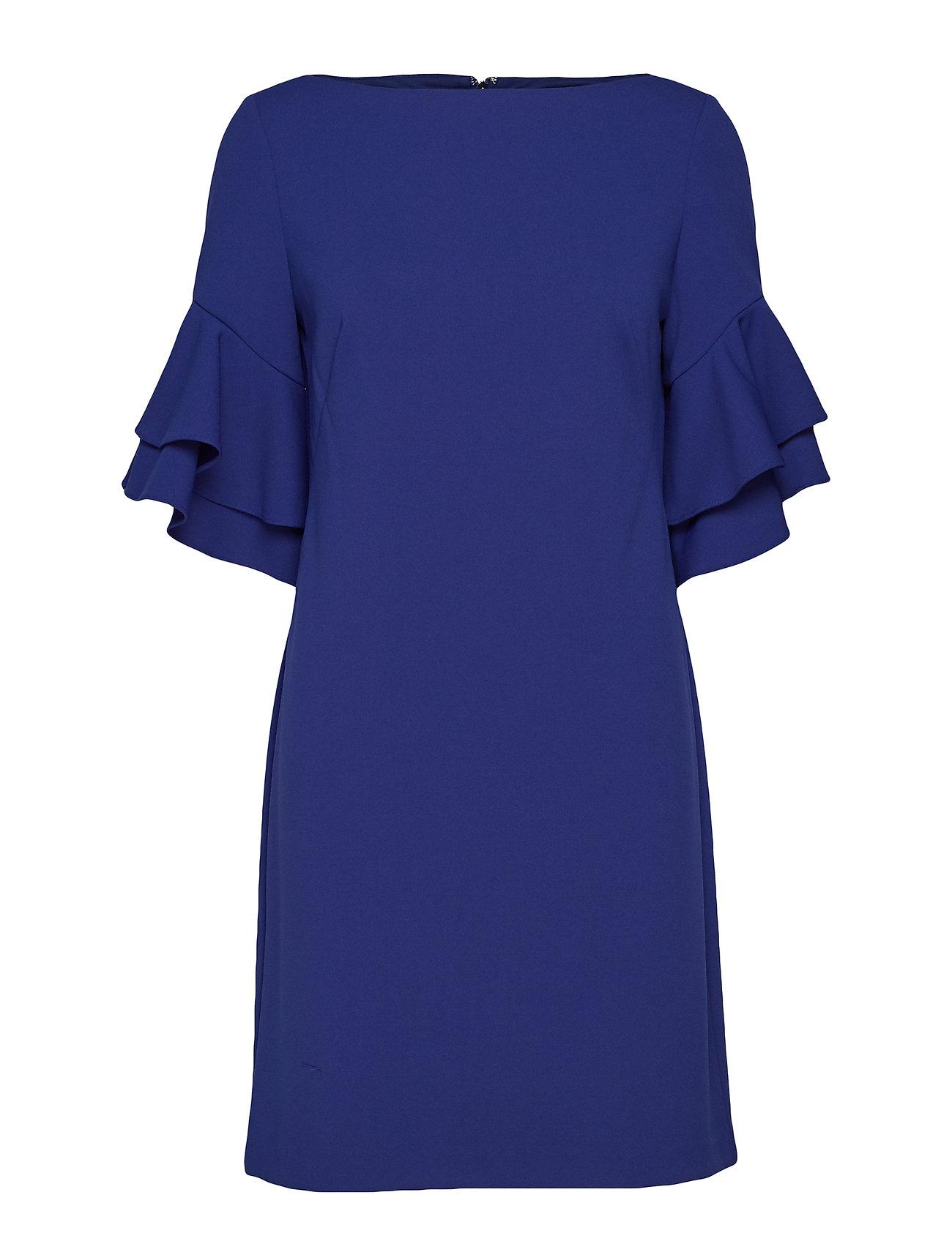 Lauren Ralph Lauren Ruffle-Sleeve Shift Dress