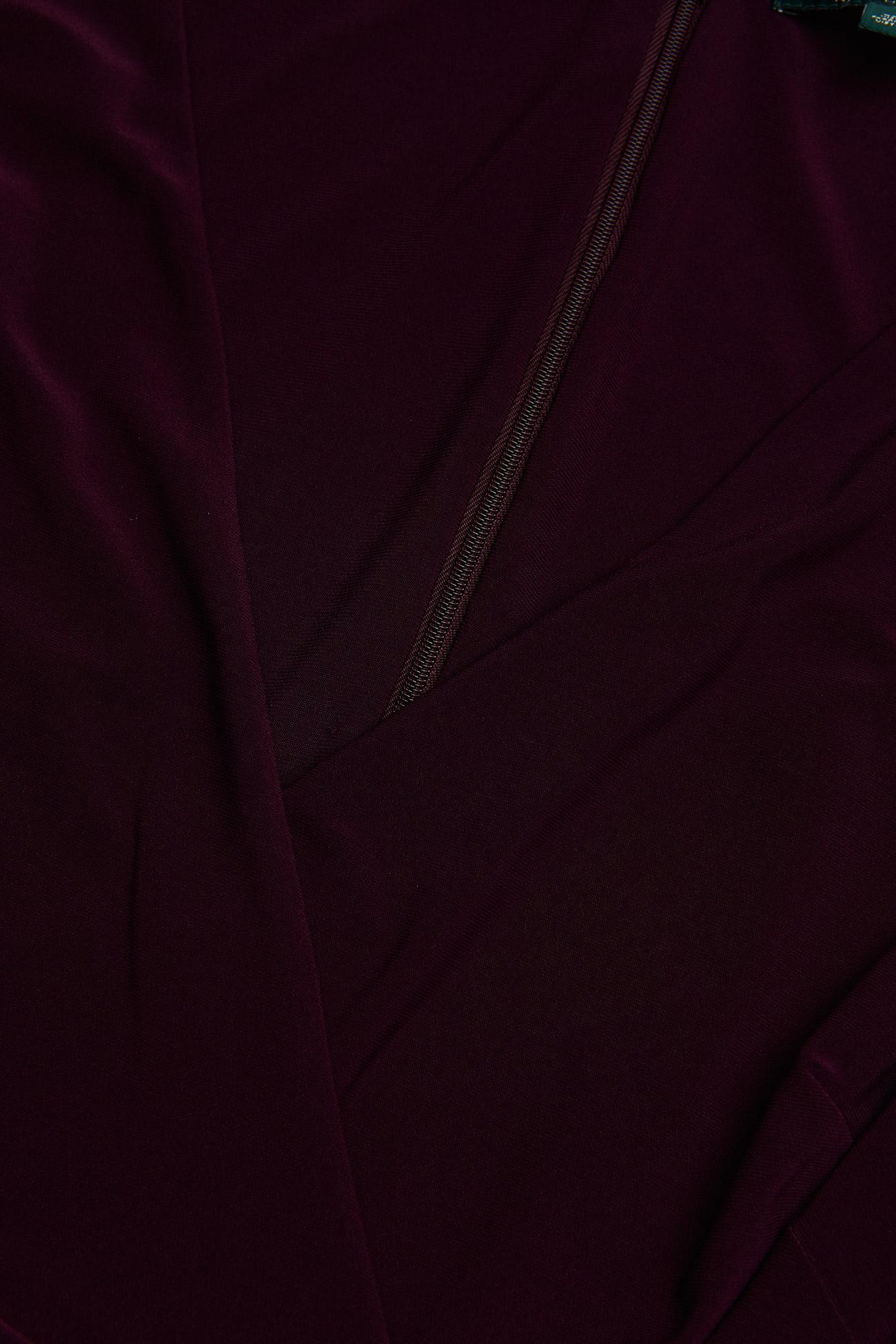sleeve Jersey PlumLauren Cap Ralph Dresspassion DYW29EHI