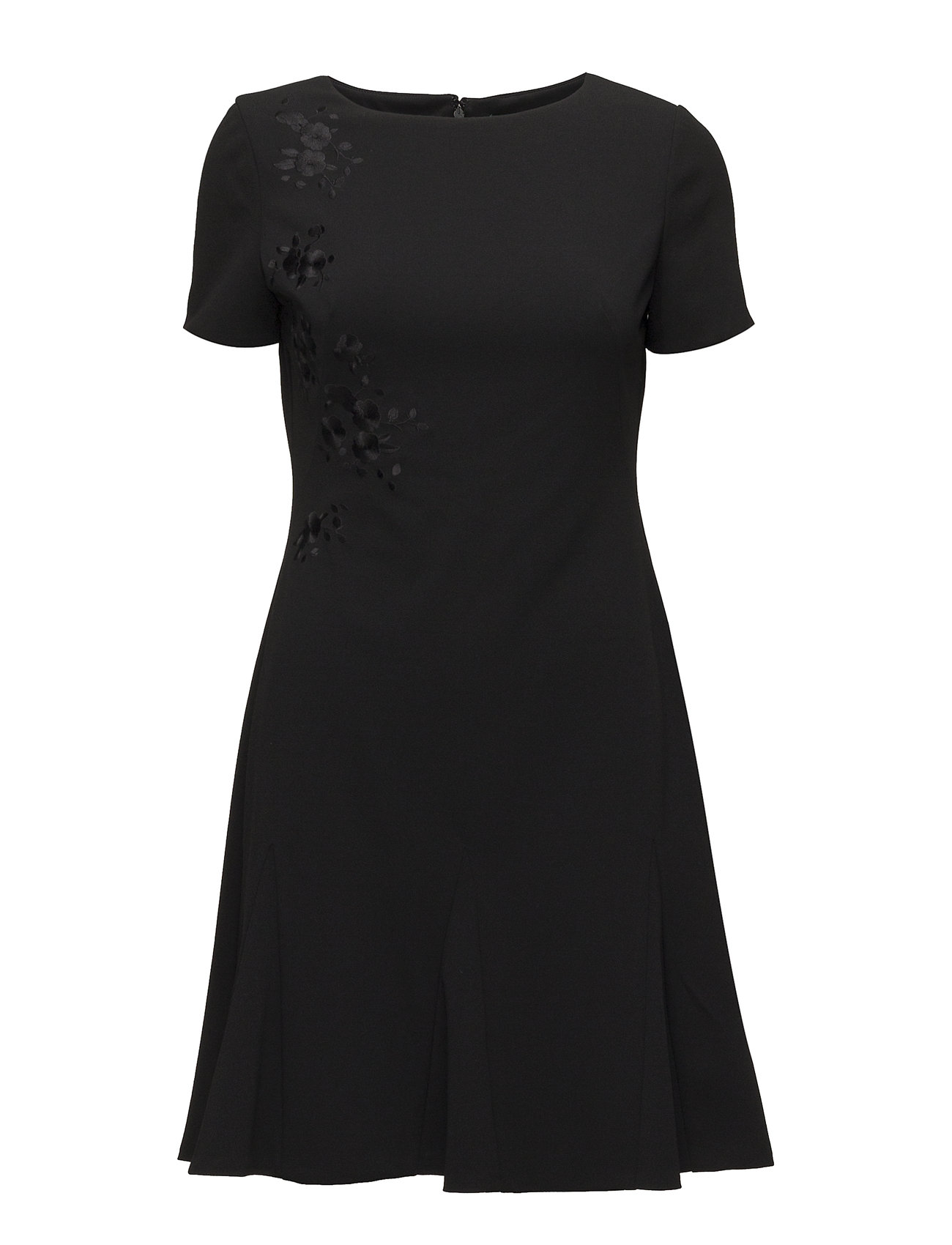 Lauren Ralph Lauren Floral-Print Jersey Dress - BLACK
