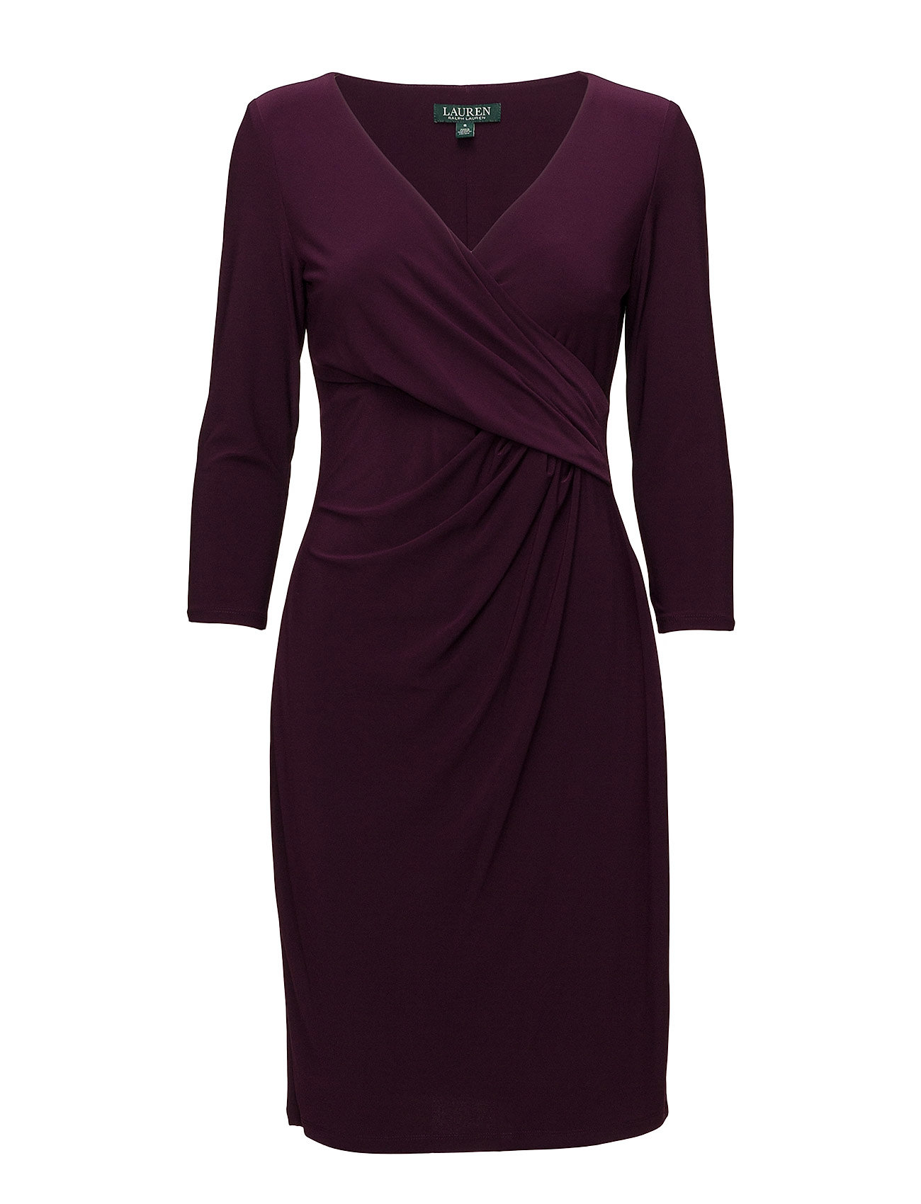 cec42a439c Surplice Jersey Dress (Passion Plum) (95.40 €) - Lauren Ralph Lauren ...