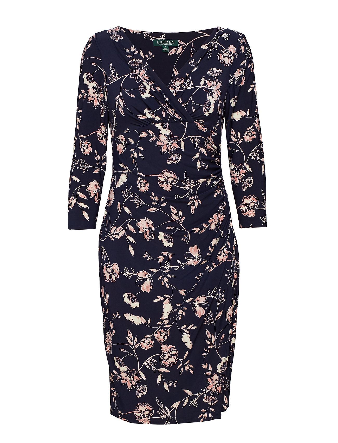 Lauren Ralph Lauren Floral Surplice Dress Klänningar