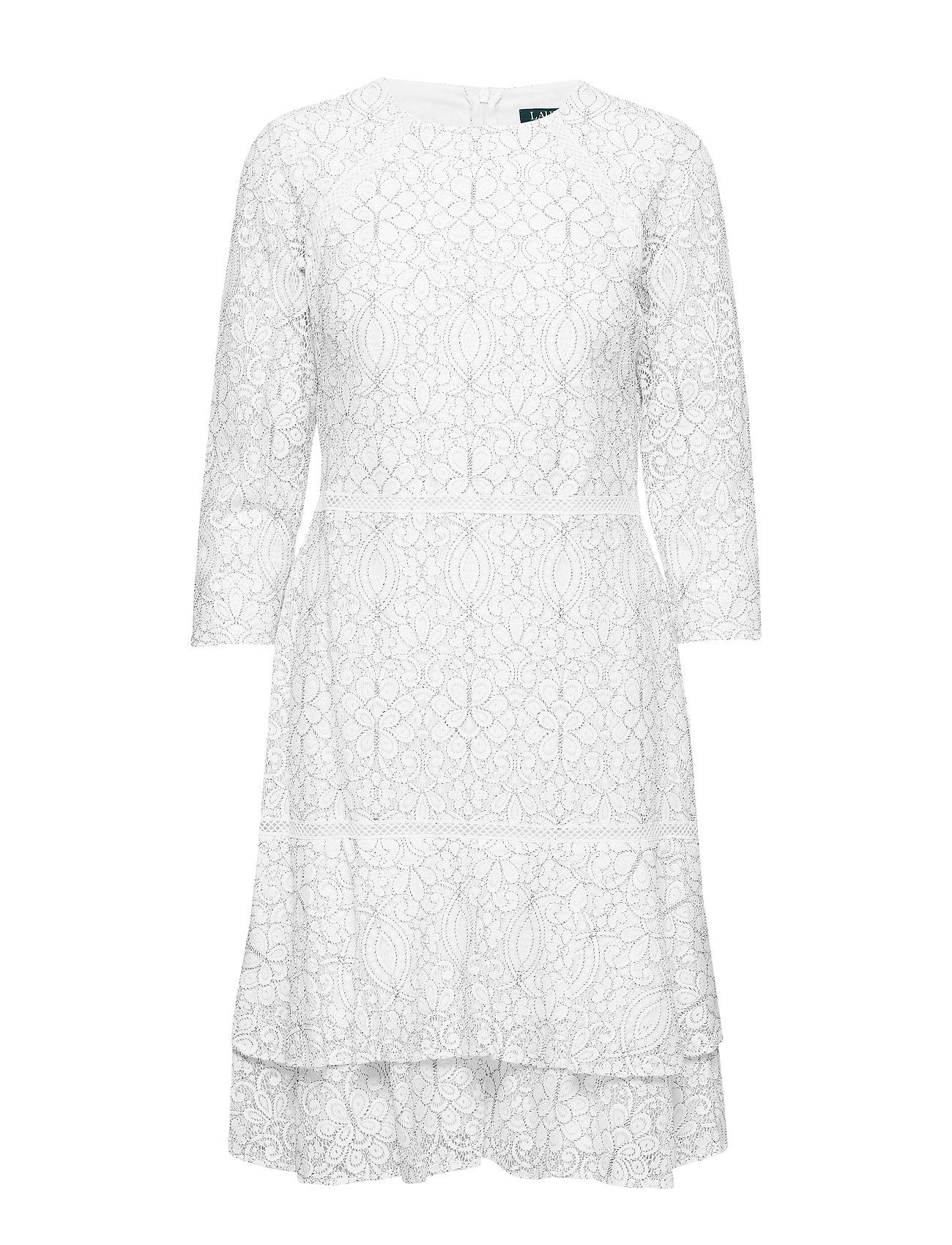 Lauren Ralph Lauren Lace Dress - LAUREN WHITE/BLAC