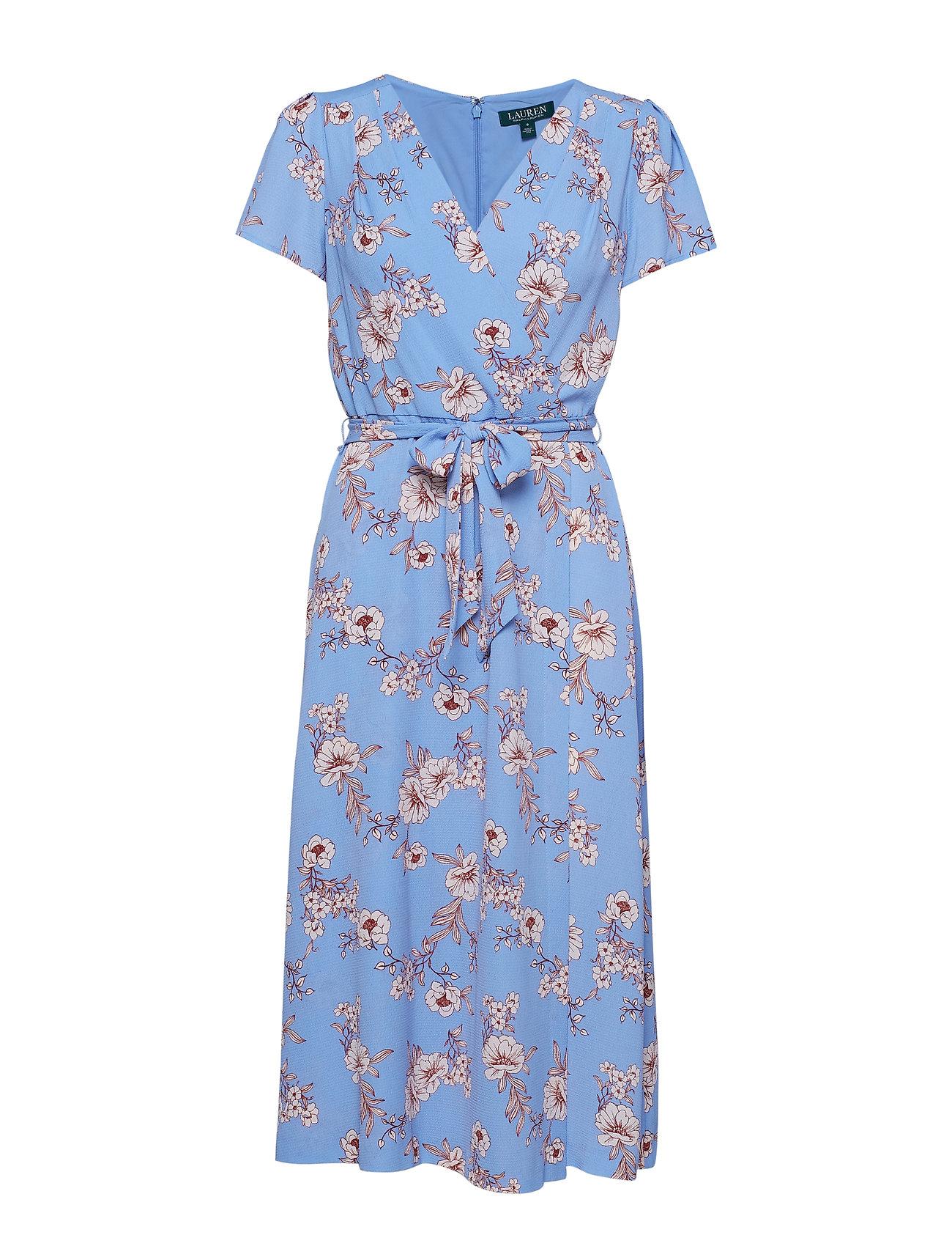 Lauren Ralph Lauren Floral Crepe Dress