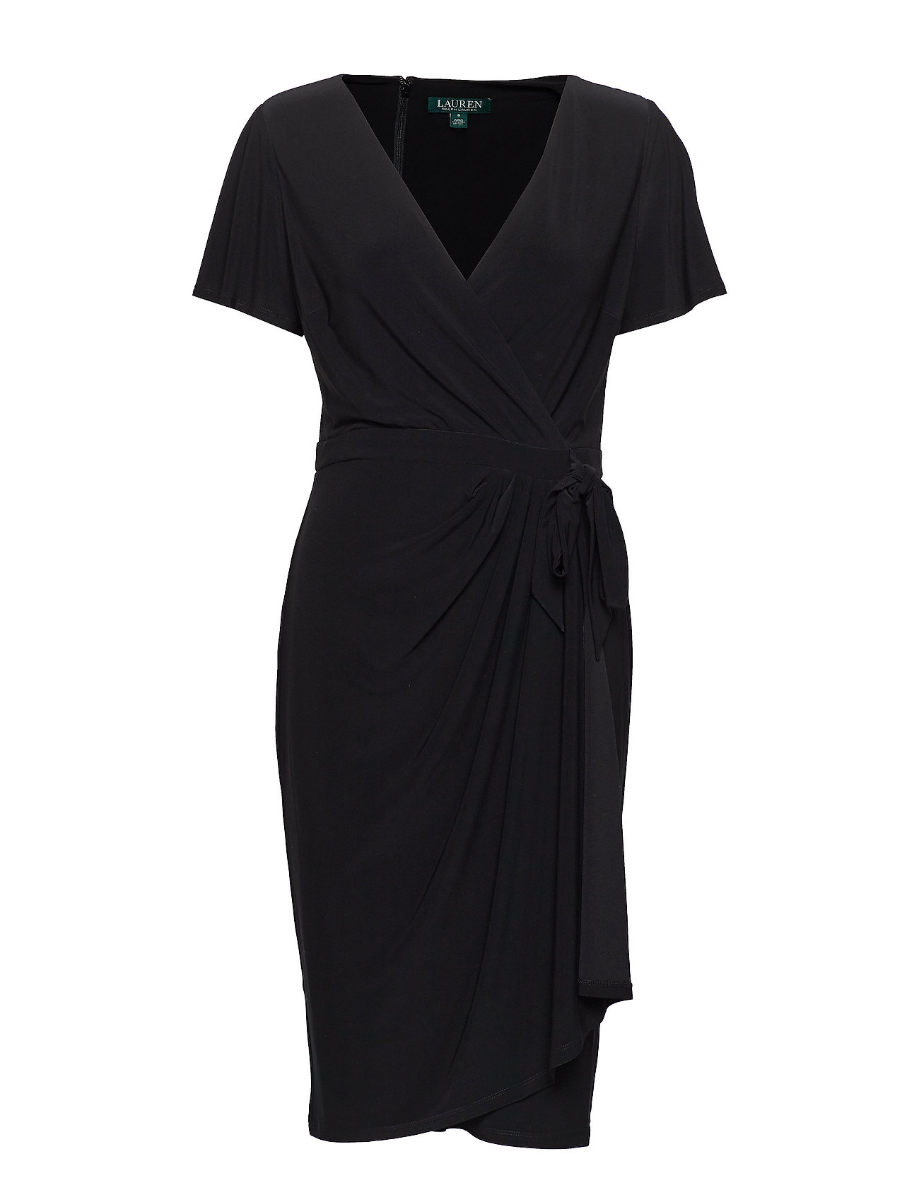 Lauren Ralph Lauren Faux-Tie Jersey Dress