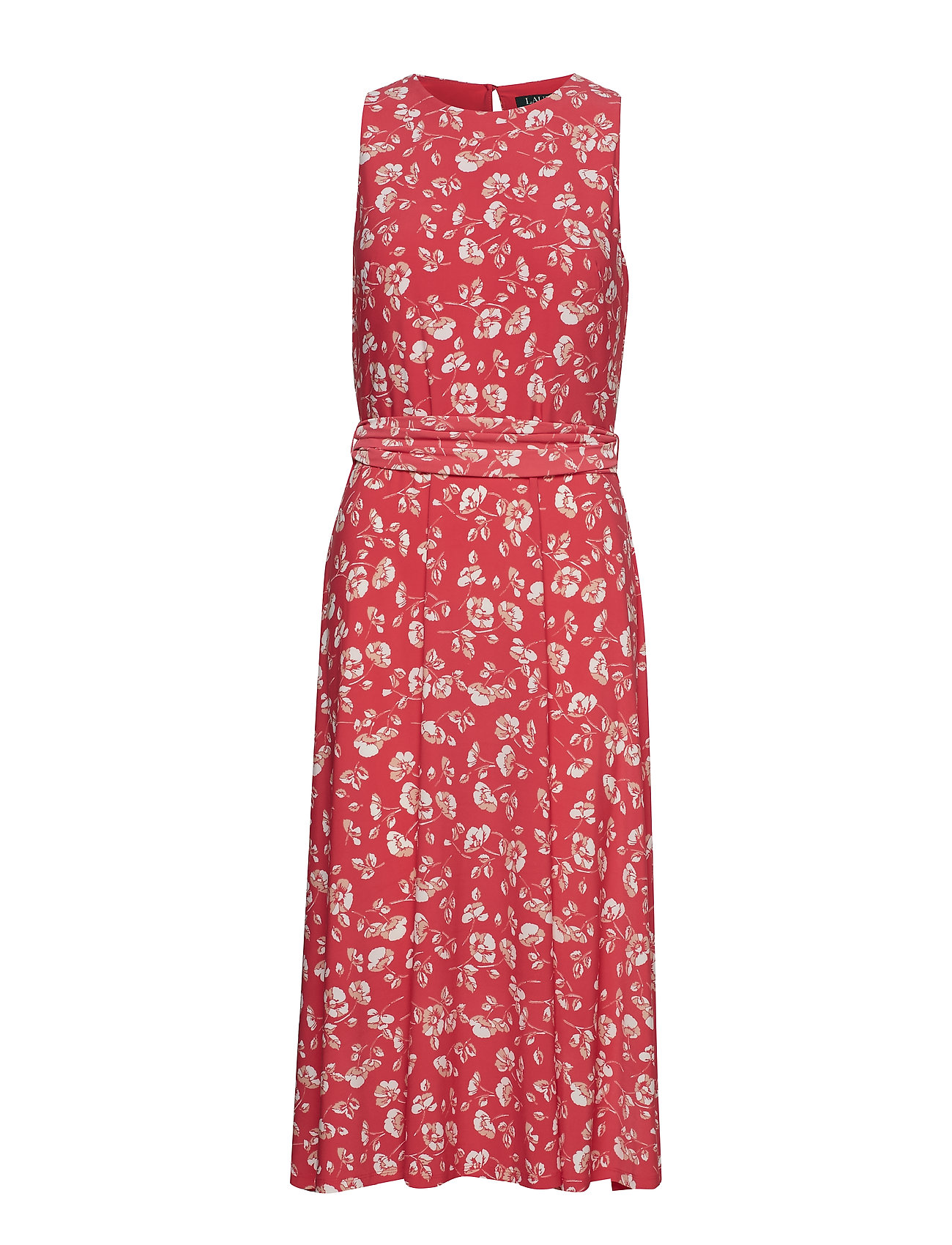 Lauren Ralph Lauren Floral Fit-and-Flare Dress
