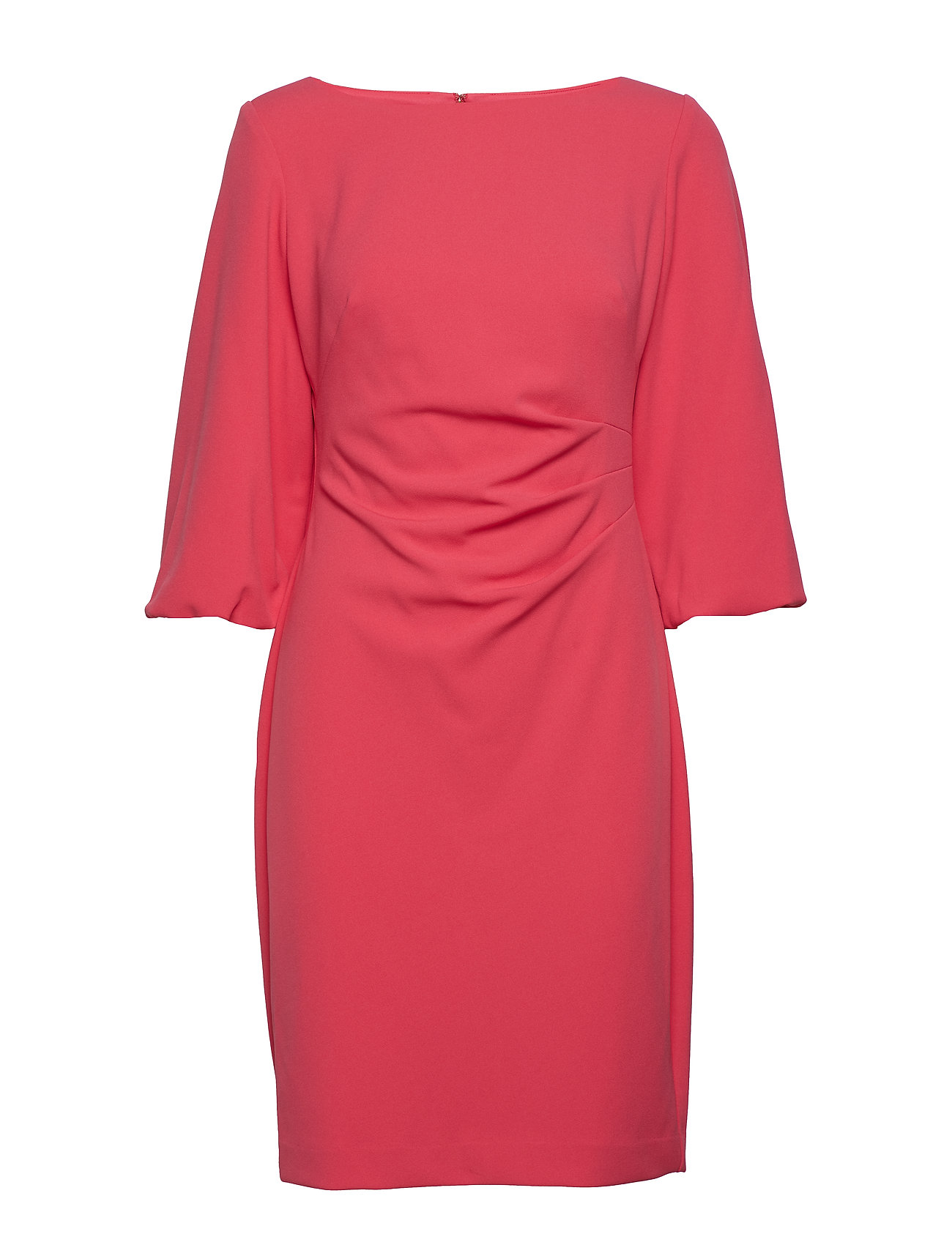 Lauren Ralph Lauren Ruched Crepe Dress
