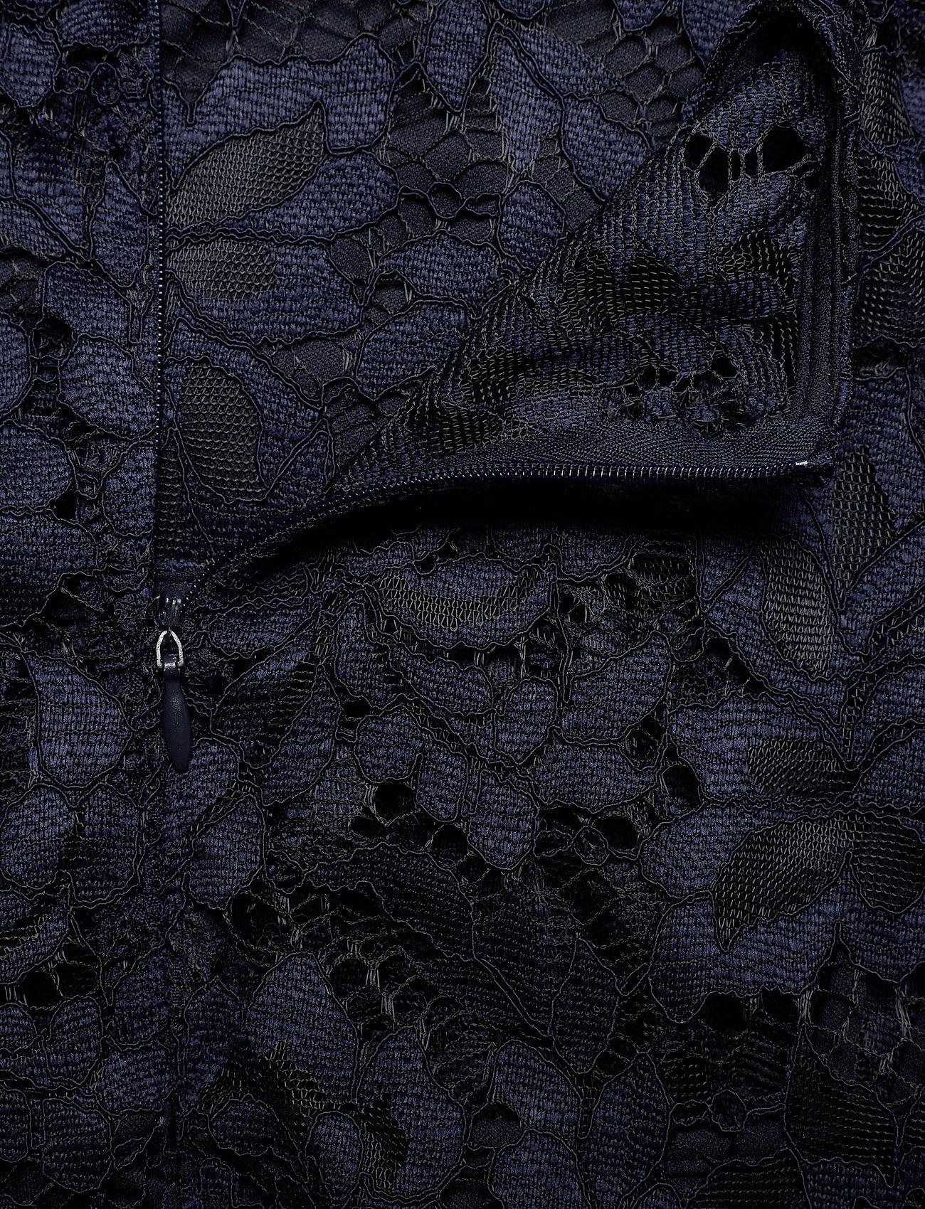 Lauren Ralph Lauren Drop-Waist Lace Dress - Sukienki LIGHTHOUSE NAVY - Kobiety Odzież.