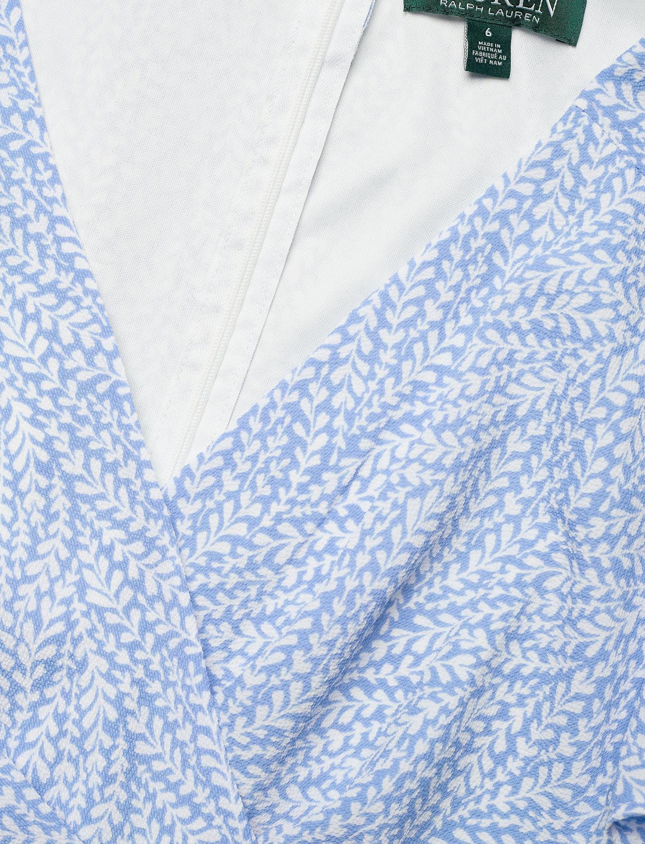 Lauren Ralph Lauren Print Crepe Dress - Sukienki EOS BLUE/COLONIAL - Kobiety Odzież.