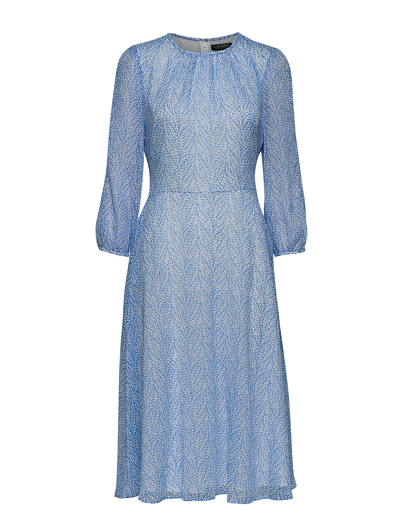 Lauren Ralph Lauren PRINTED GGT-DRESS - EOS BLUE/COLONIAL