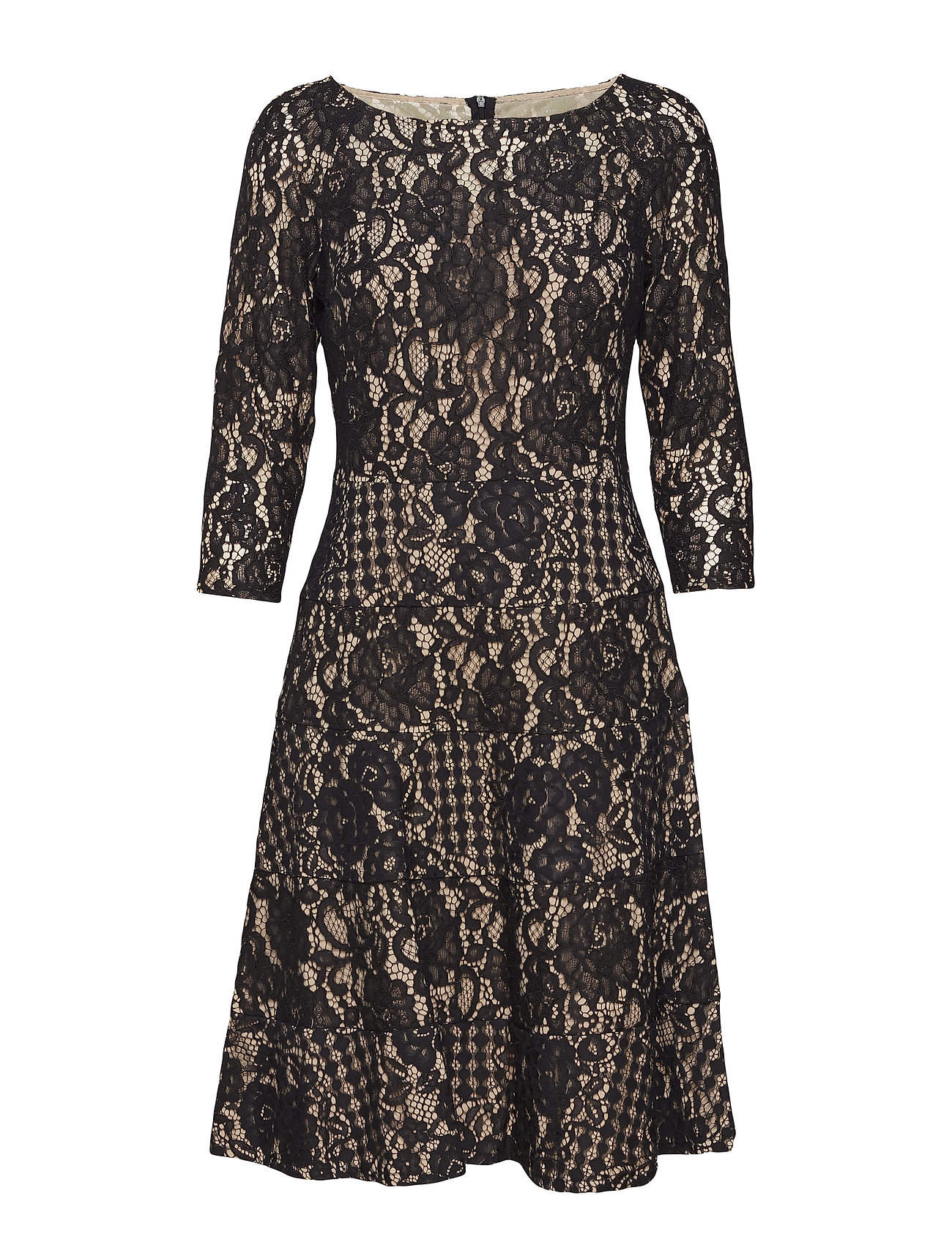 blk sprl flare and ChamLauren Ralph Fit Lace Dressblk 0wX8nNkOPZ