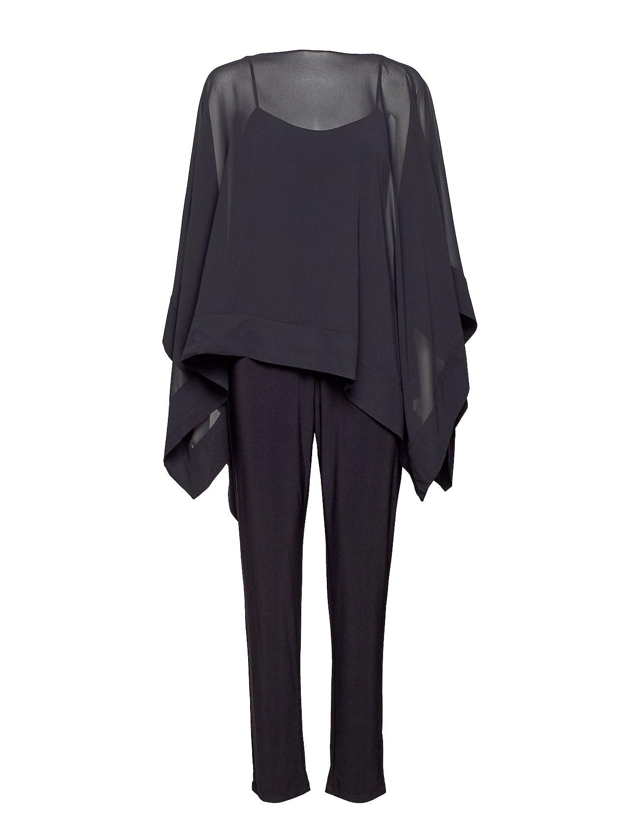 Lauren Ralph Lauren Georgette Tunic Jumpsuit