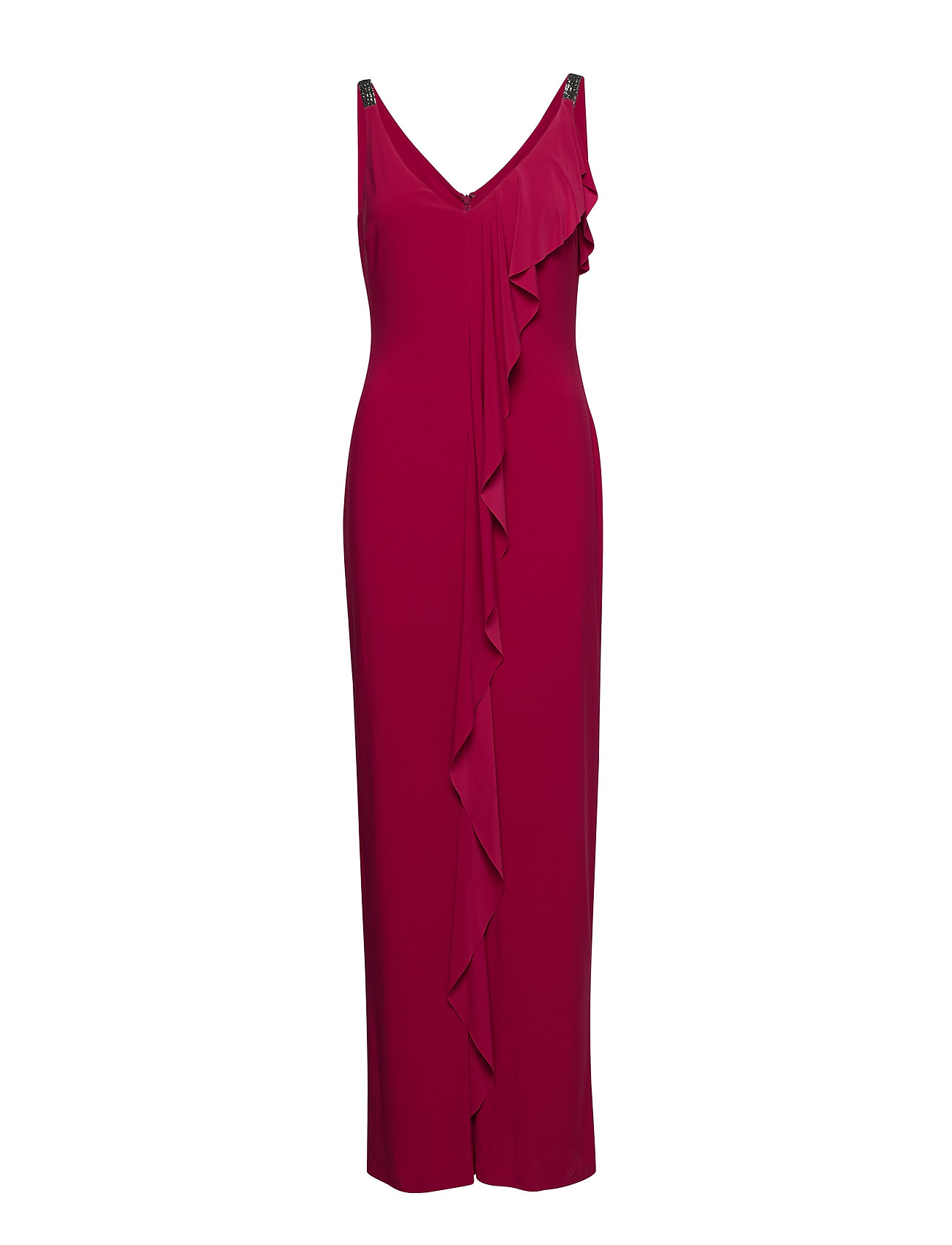 Lauren Ralph Lauren VORIANA-SLEEVELESS-EVENING DRESS - BRIGHT ORCHID