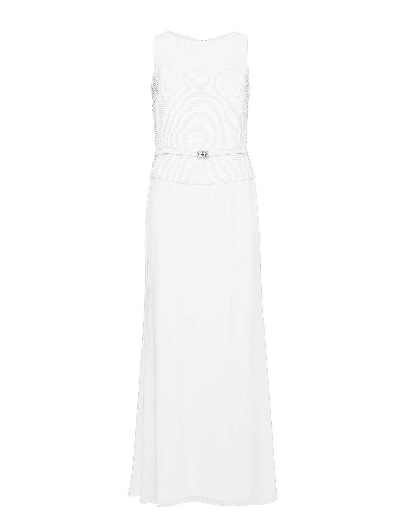 Lauren Ralph Lauren Georgette Sleeveless Gown - CASHEW