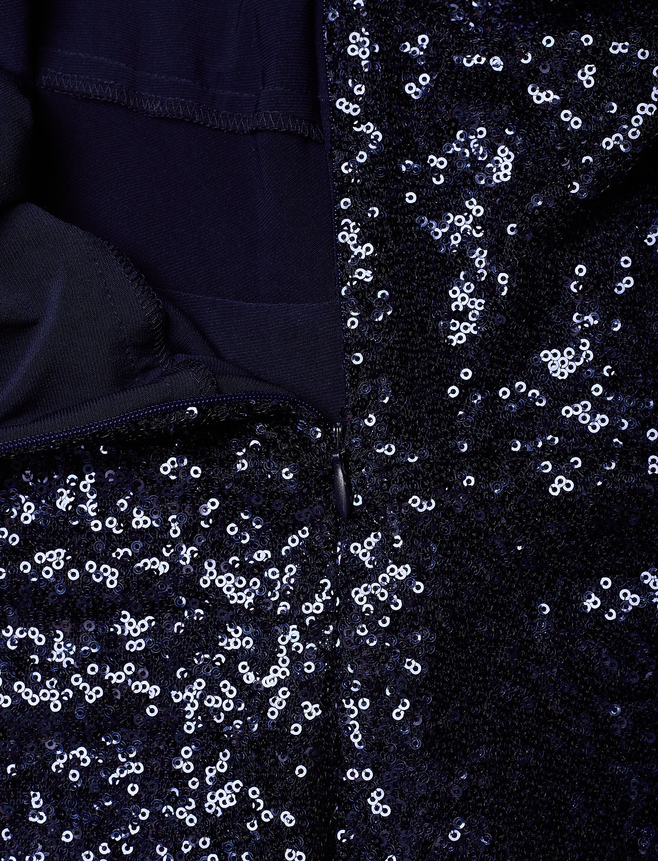 Lauren Ralph Lauren SEQUIN MESH-COCKTAIL DRESS - Kjoler LIGHTHOUSE NAVY - Dametøj Særtilbud