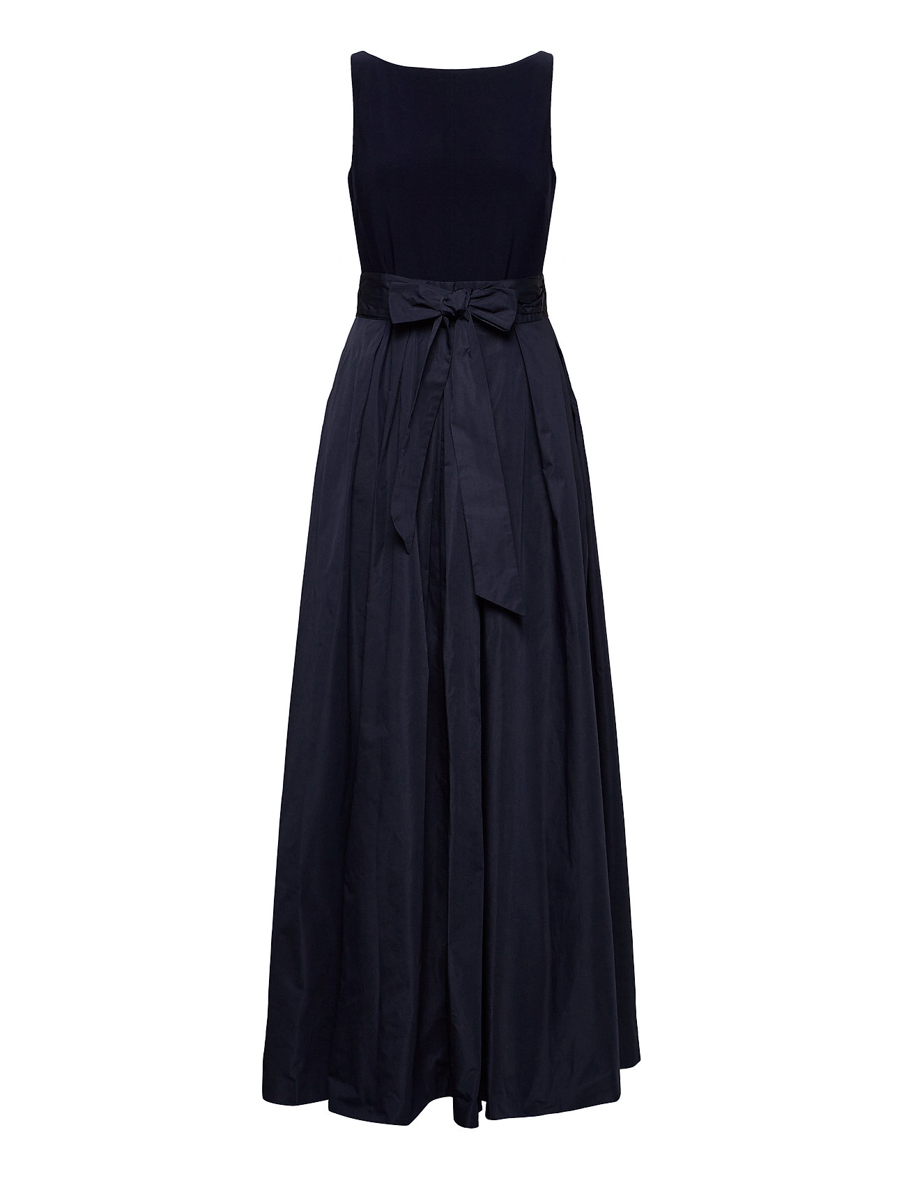 Lauren Ralph Lauren - Taffeta Sleeveless Gown - robes de soirée - lighthouse navy - 0