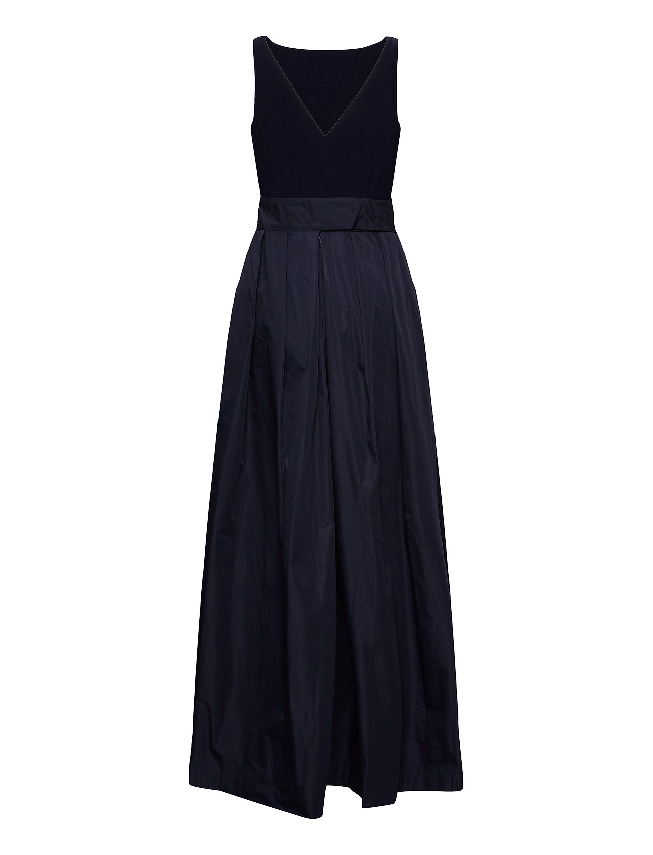 Lauren Ralph Lauren - Taffeta Sleeveless Gown - robes de soirée - lighthouse navy - 1