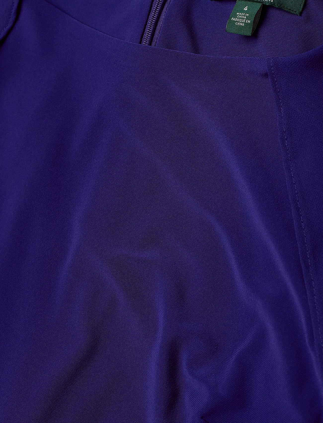 Lauren Ralph Lauren Cape Georgette Jumpsuit - Kombinezony CANNES BLUE - Kobiety Odzież.