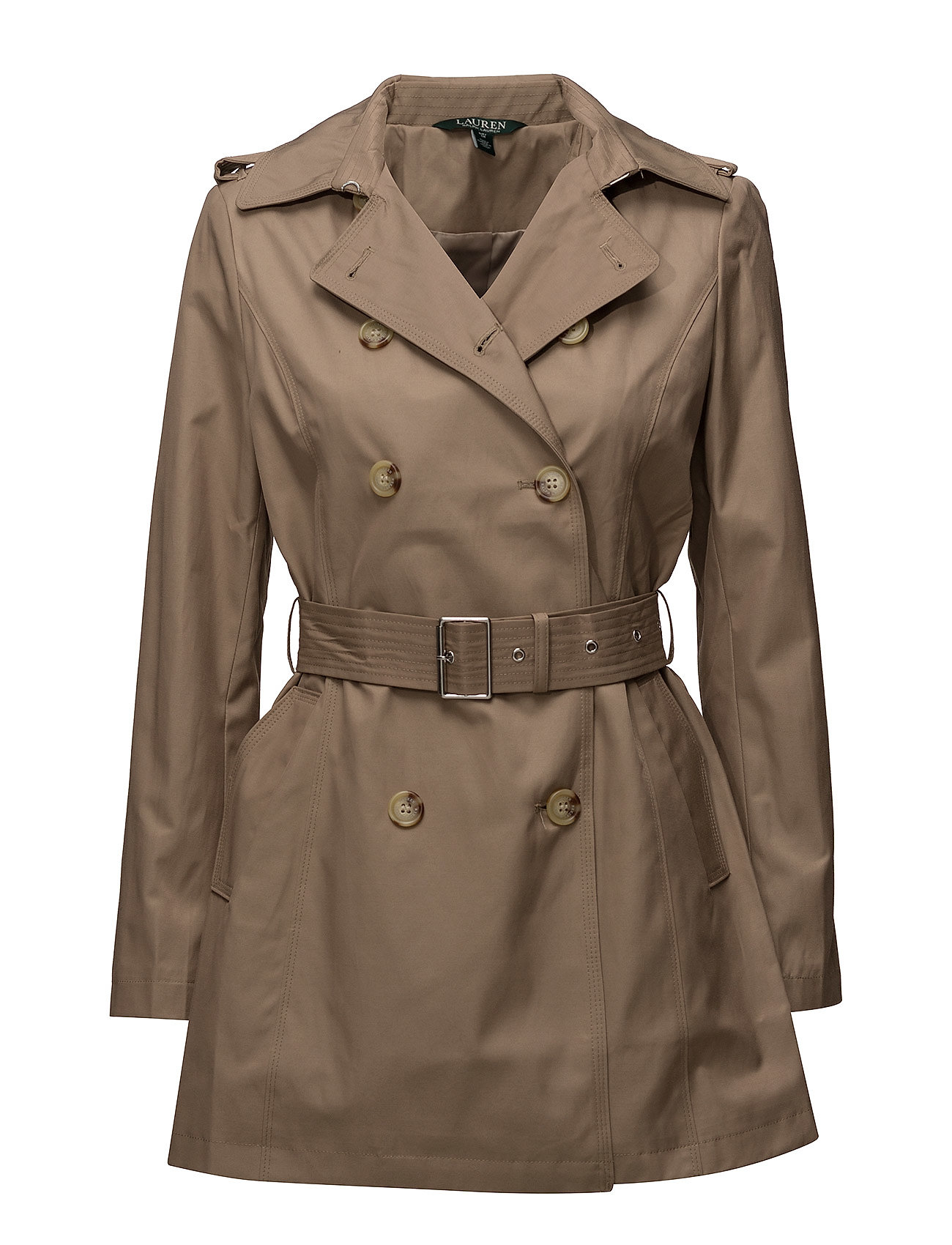 Lauren Ralph Lauren COTTON NYLON-SYNTHETIC COAT