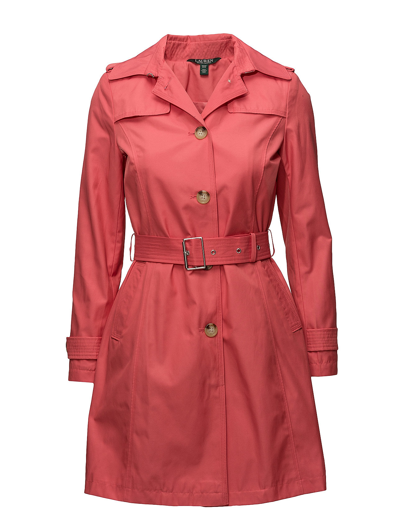 Lauren Ralph Lauren Cotton-Blend Belted Trench