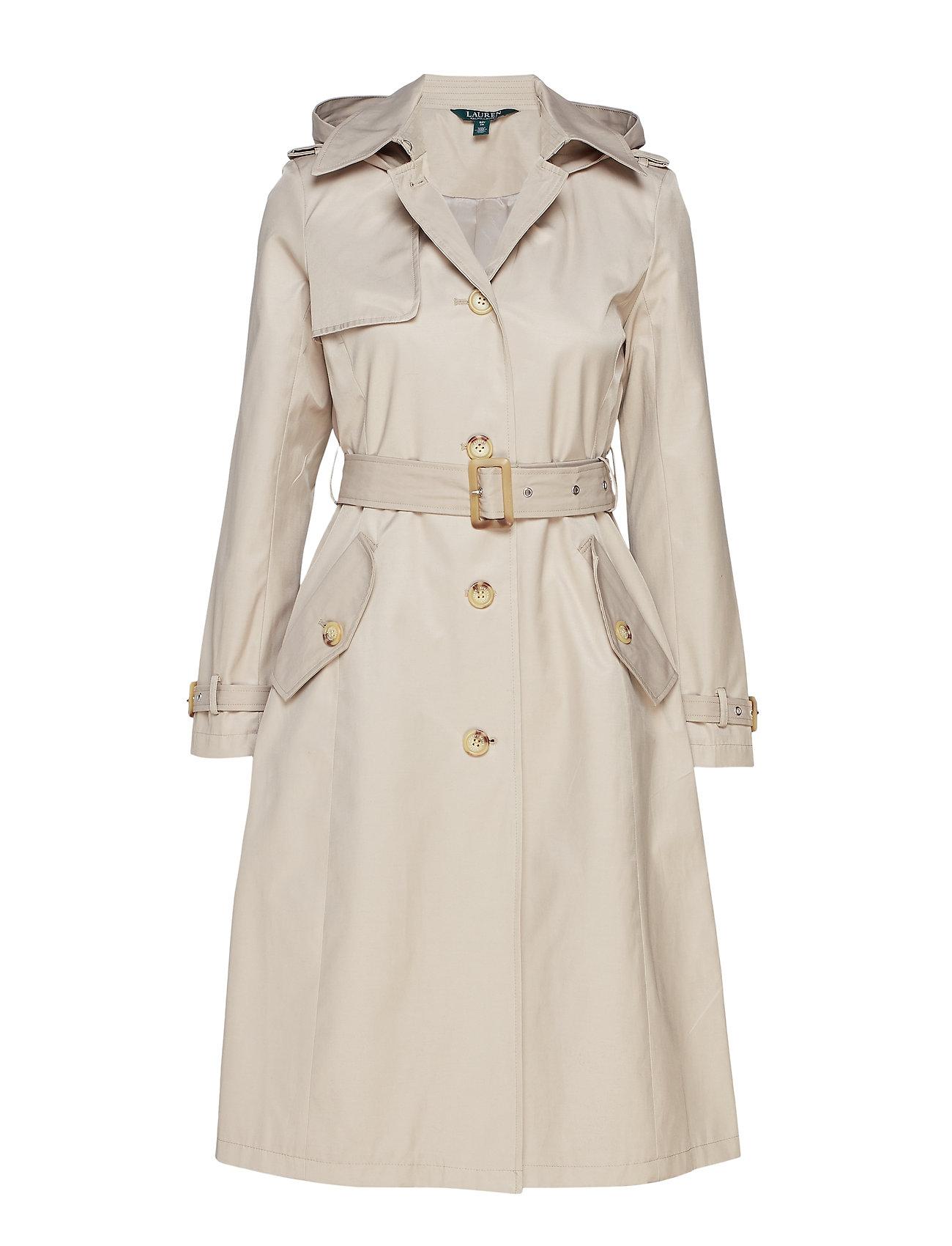 Lauren Ralph Lauren Cotton-Blend Trench Coat
