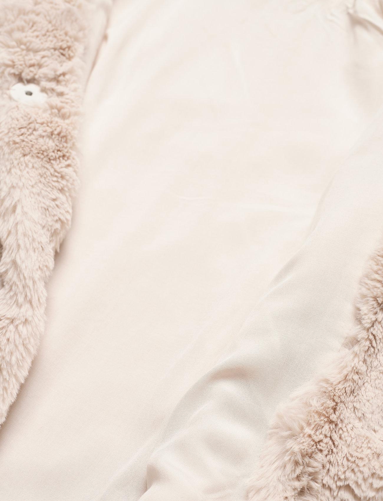 Lauren Ralph Lauren FAUX FUR-FAUX FURY CHUBBY - Kurtki i Płaszcze CREAM - Kobiety Odzież.
