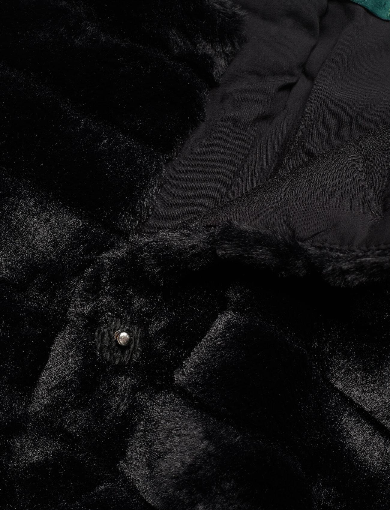 WThin StaLauren Ralph Chubby Faux fur Coatblack yvN8nwOPm0