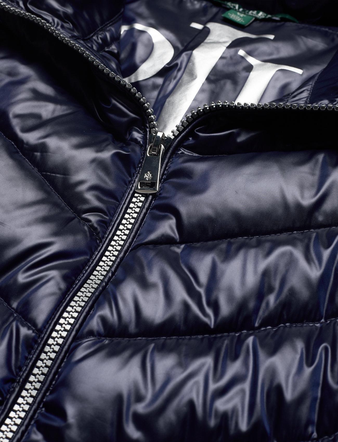 Lauren Ralph Lauren METALLIC-DRW CORD WST SFT DWN - Jackets & Coats NAVY