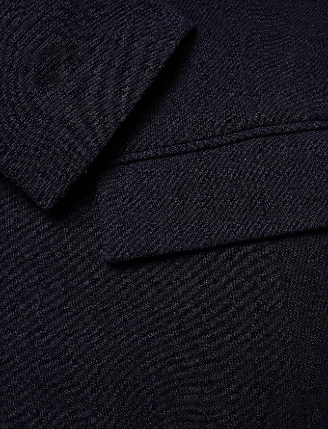 Lauren Ralph Lauren Crepe Coat - Kurtki i Płaszcze MIDNIGHT - Kobiety Odzież.