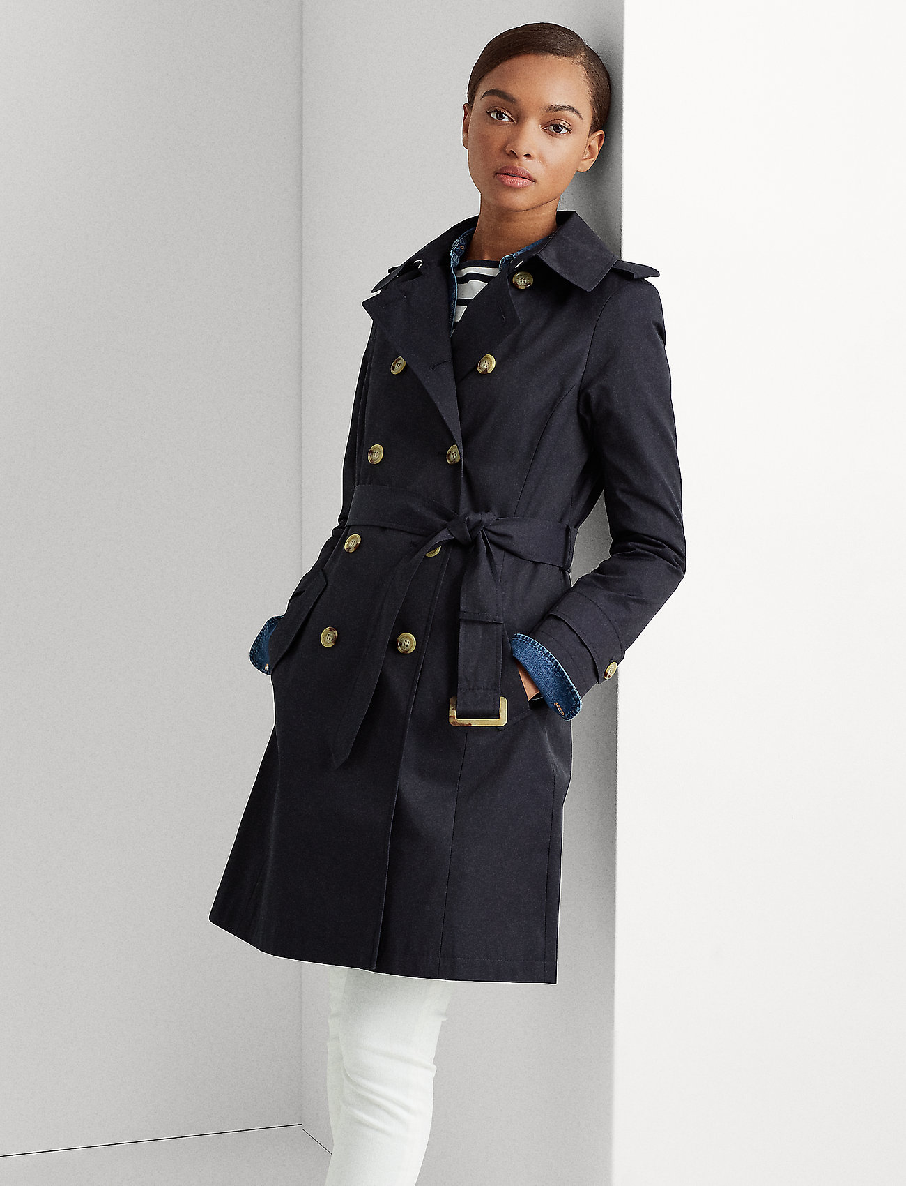 Lauren Ralph Lauren - Trench Coat - trenchs - dark navy - 0