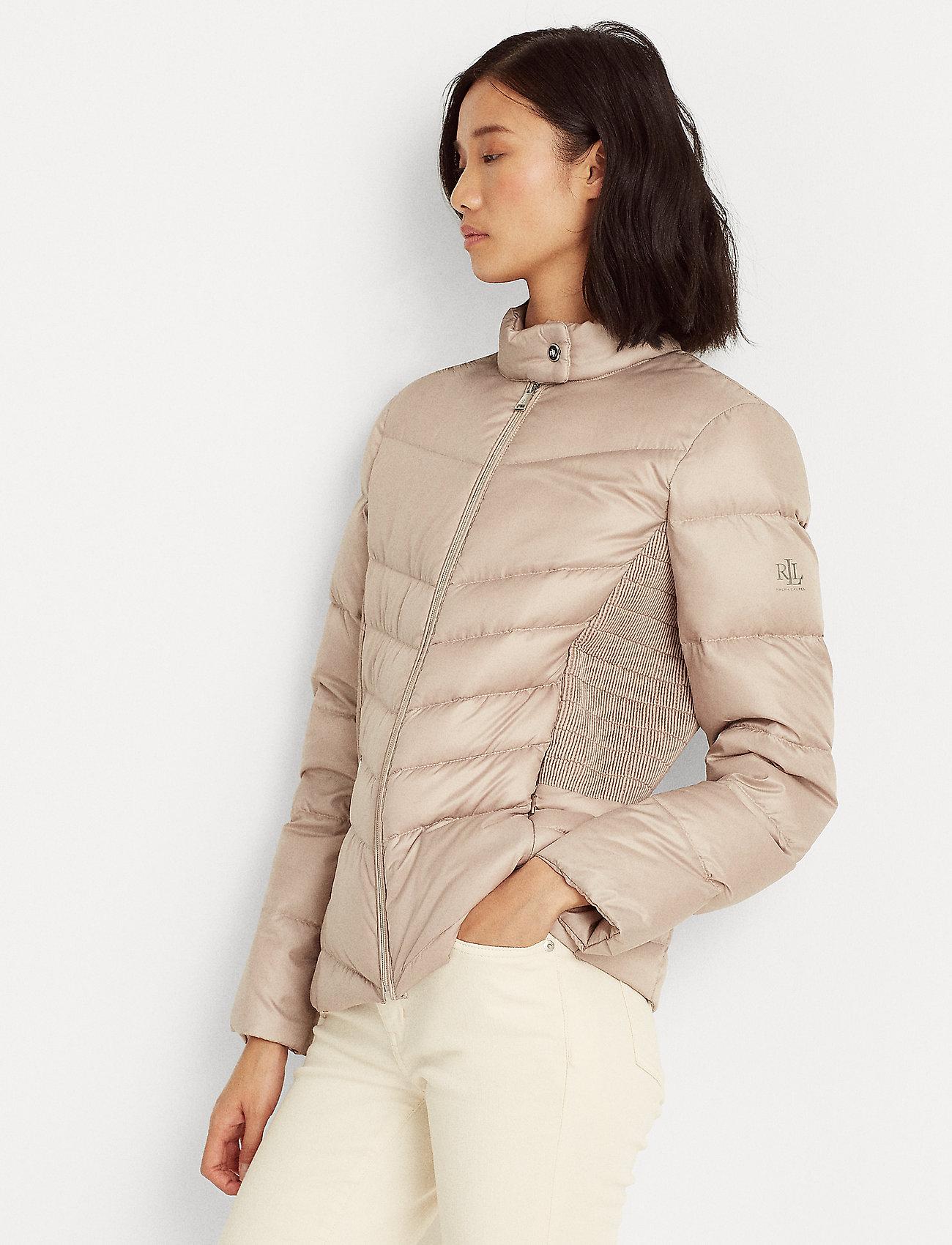 Lauren Ralph Lauren - Down Moto Jacket - forede jakker - luxe chino - 0