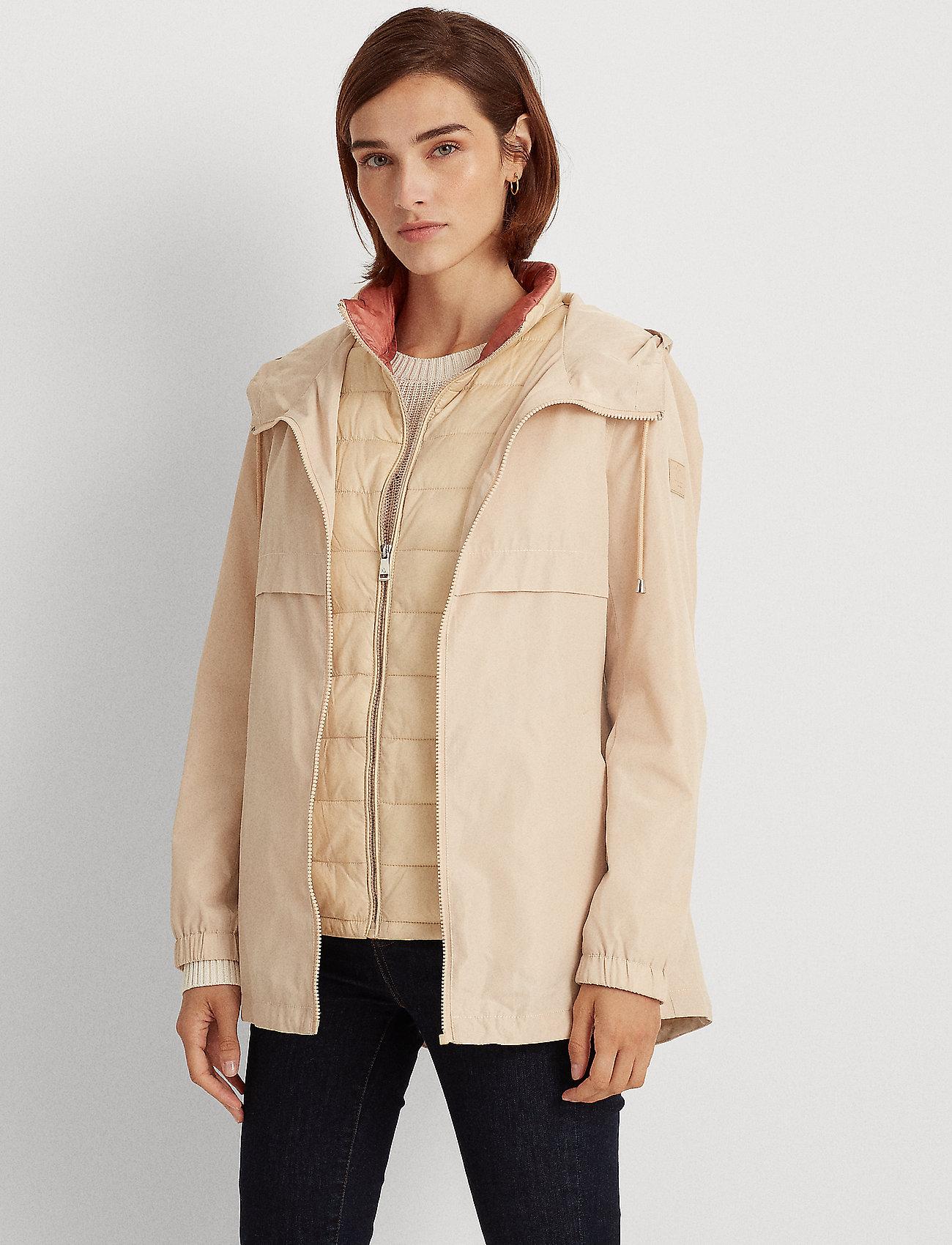 Lauren Ralph Lauren - 2-in-1 Anorak Coat - anorakker - beige - 0